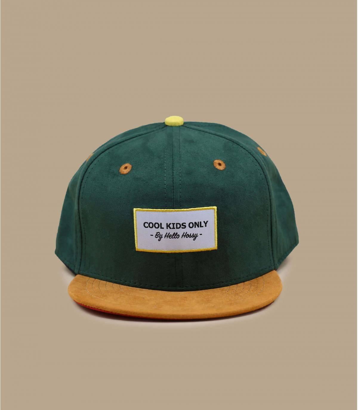 cappellino bambino/a verde