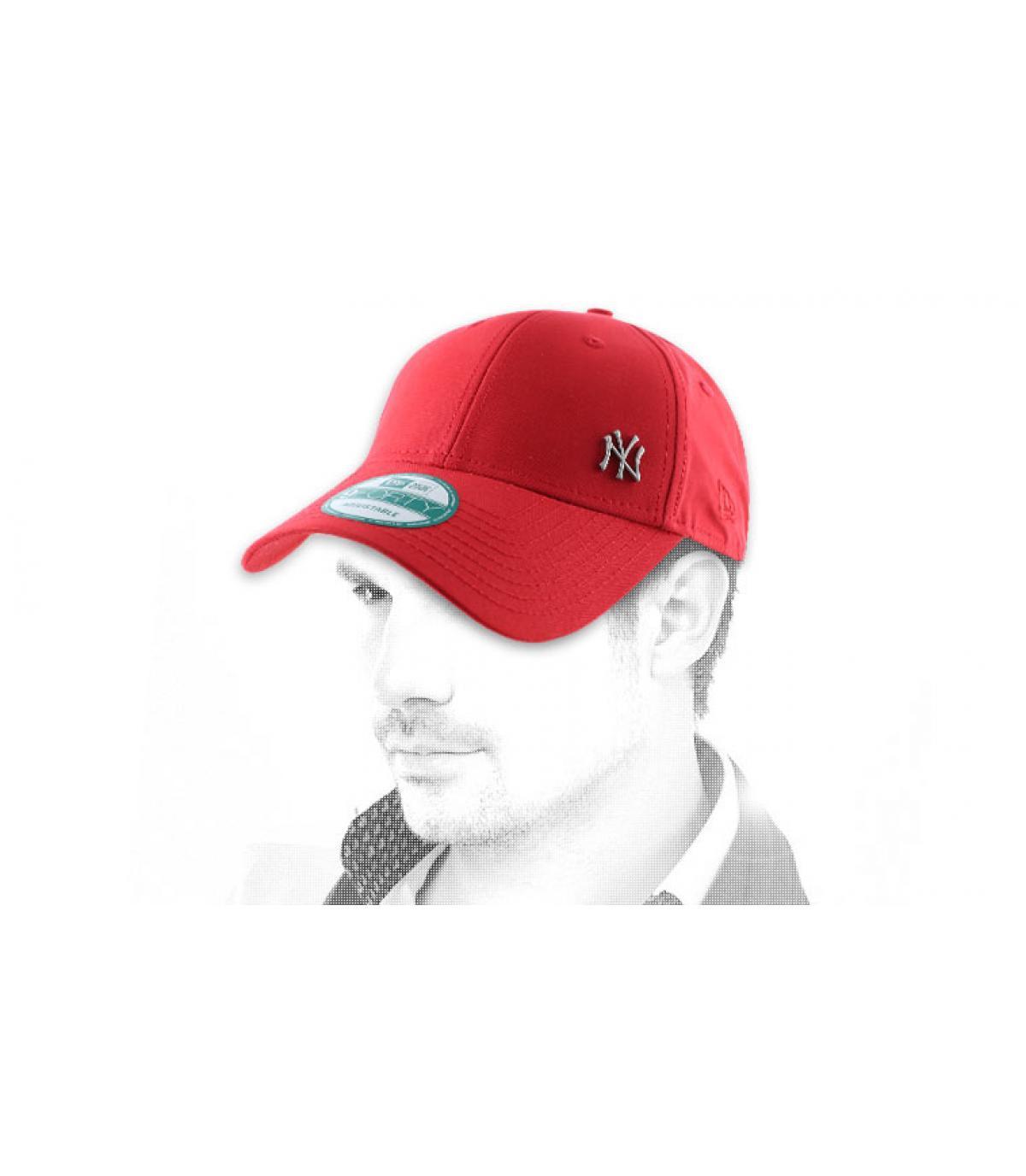 MLB flawless logo NY black cap