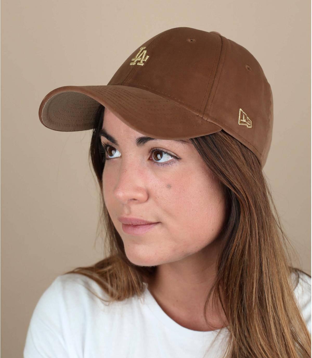 cappellino velours LA