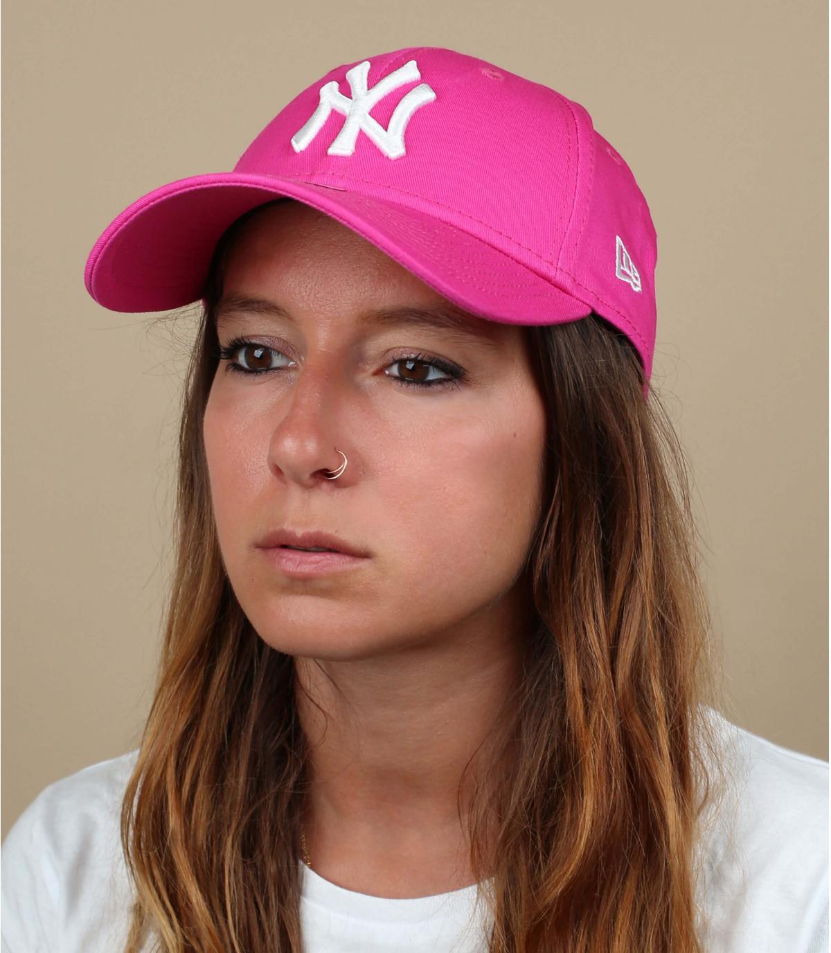 Trucker NY fashion essential pink