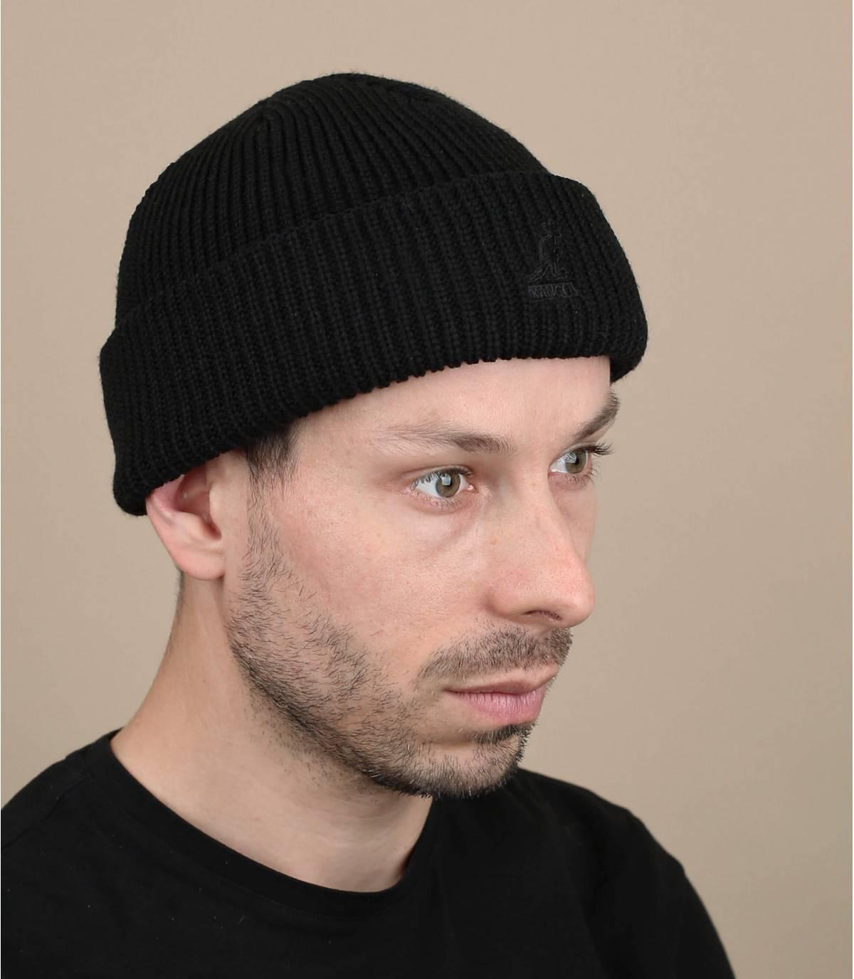 berretto nero Kangol