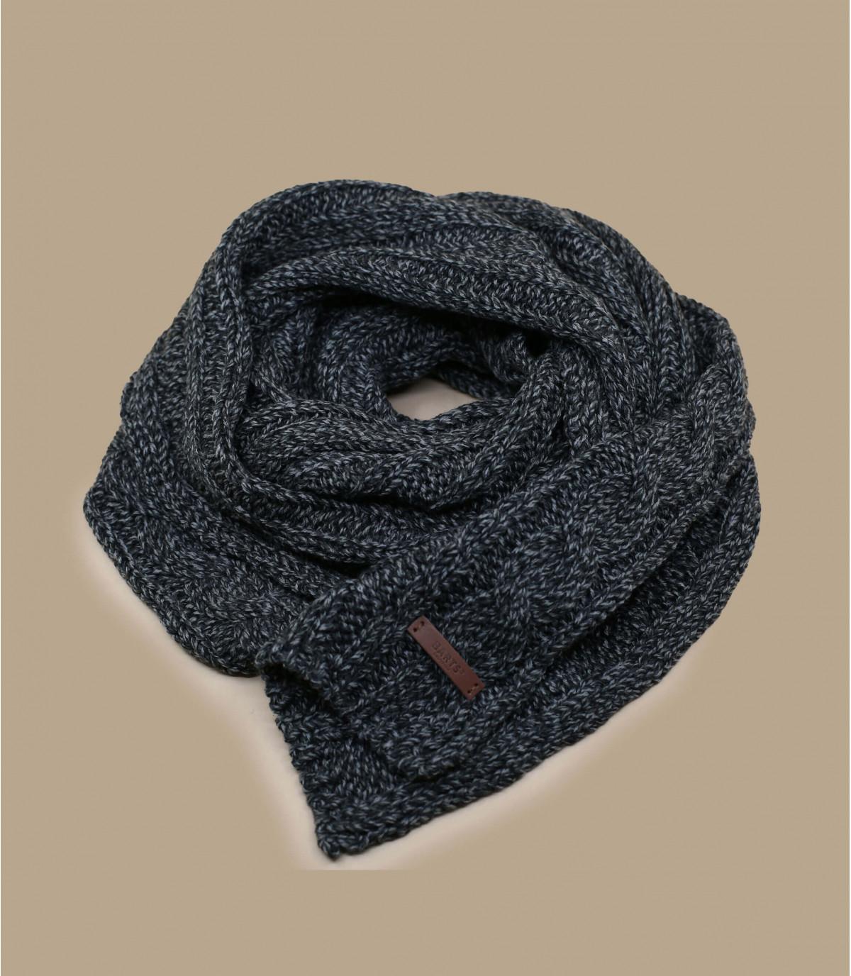 sciarpa nera contorto
