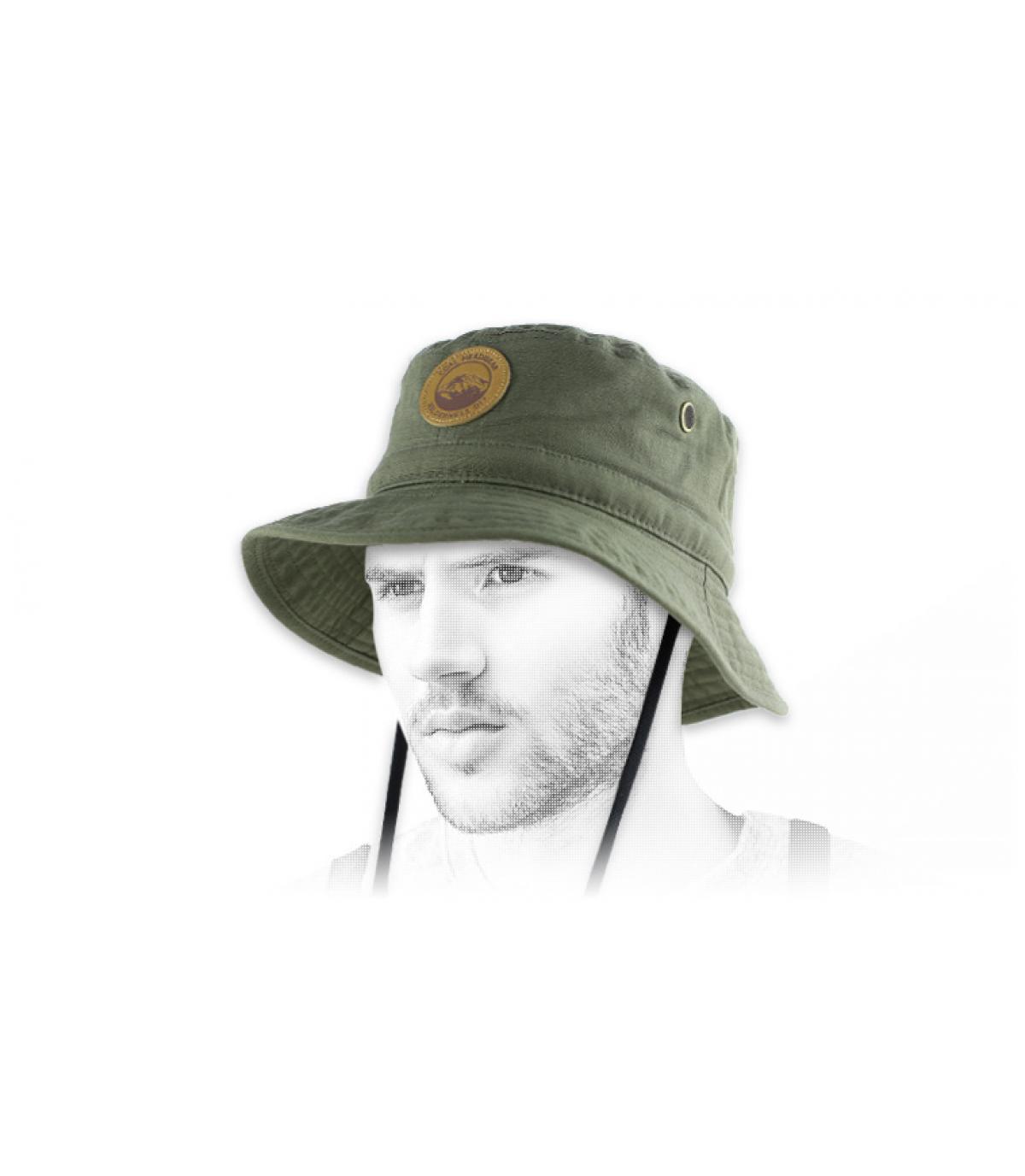 Cappello bob verde Coal