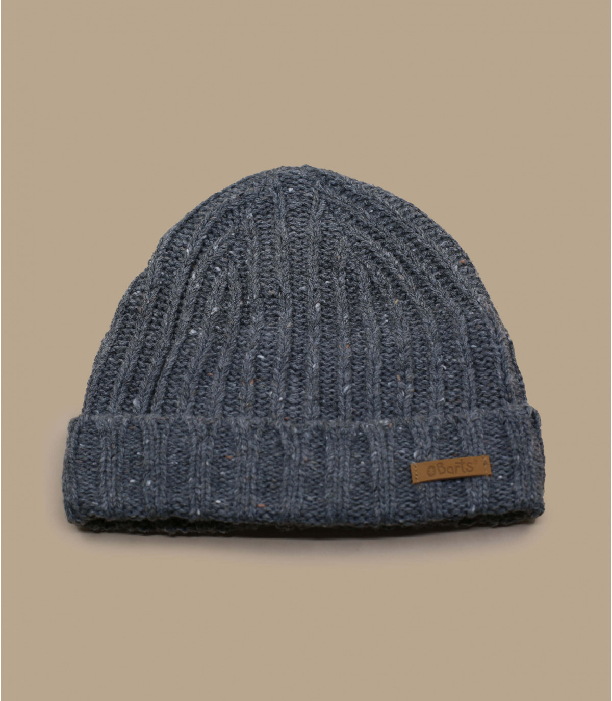 cappello bavero grigio bambino