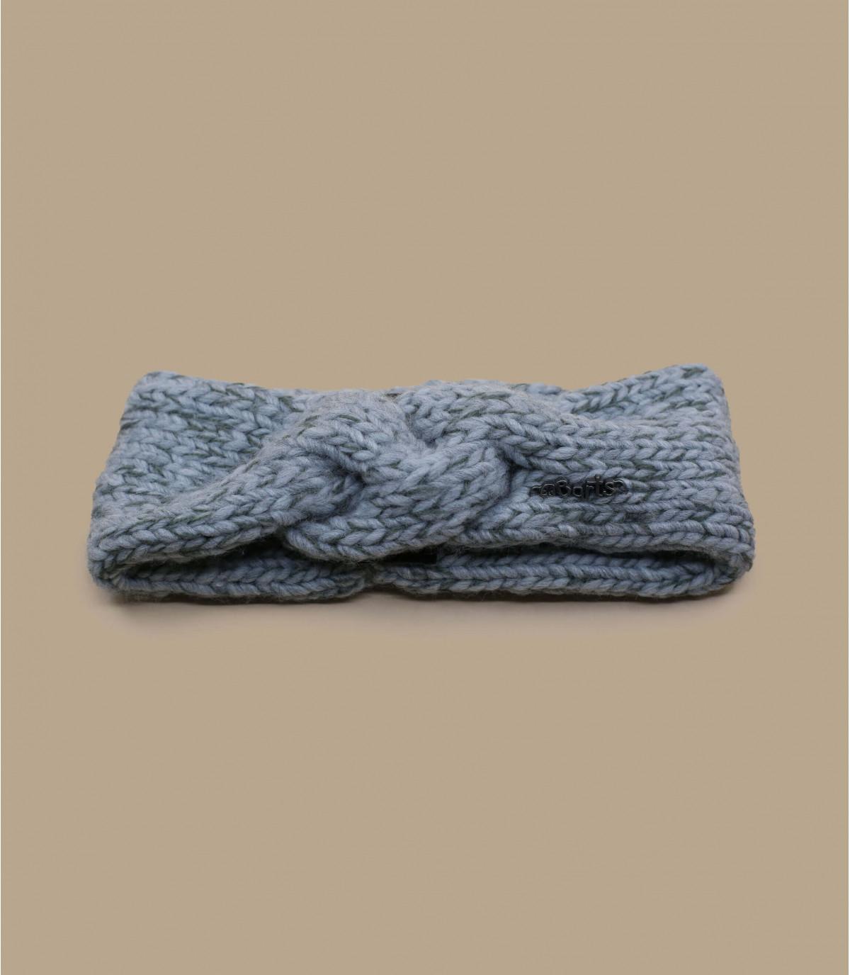 grigio intrecciato fascia ragazza