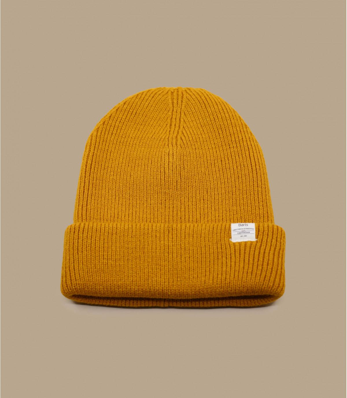 risvolto giallo del cofano