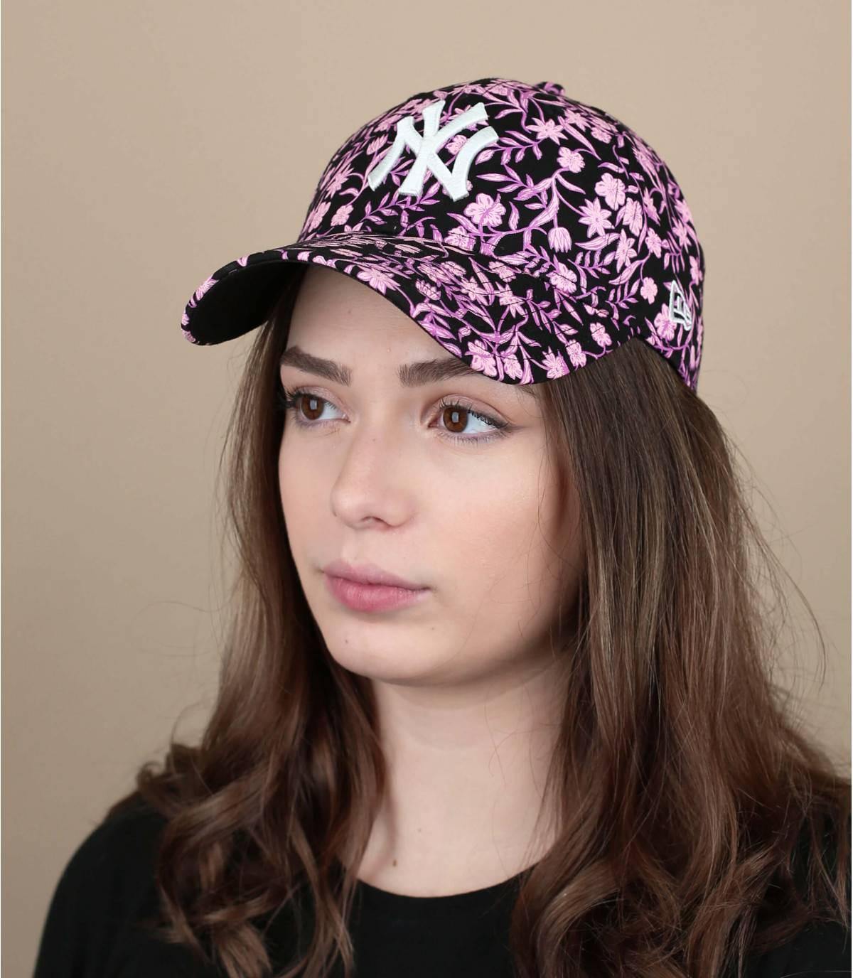 cappellino fiori