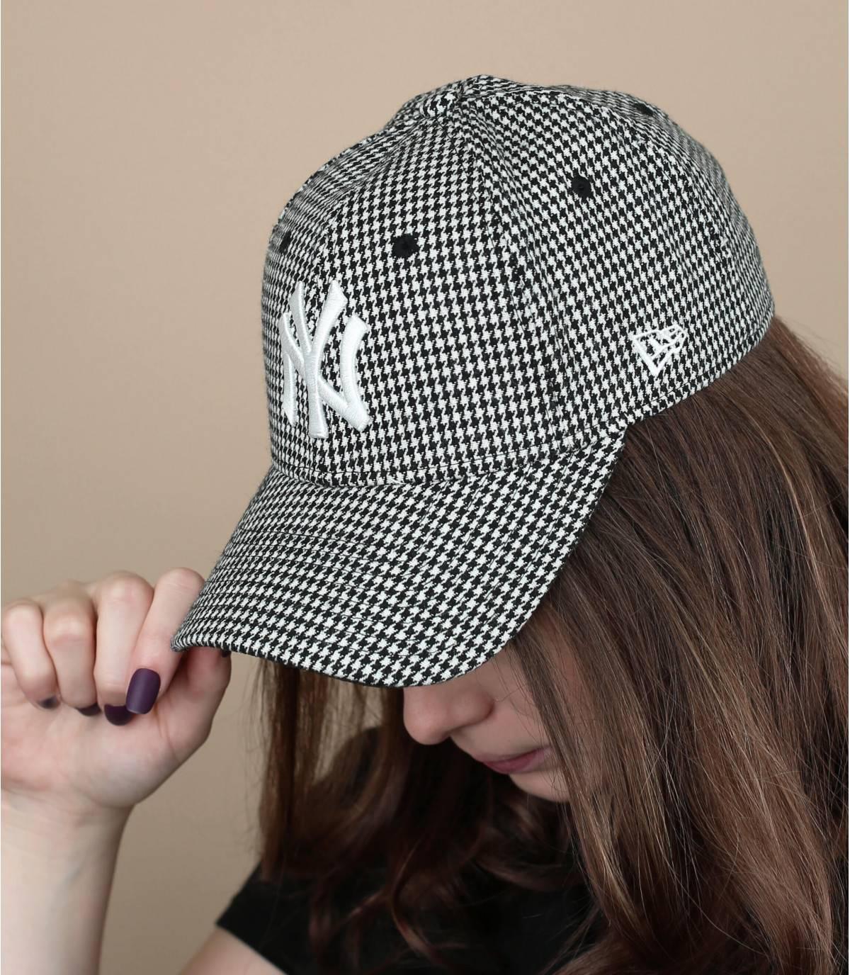 cappellino pied-de-poule