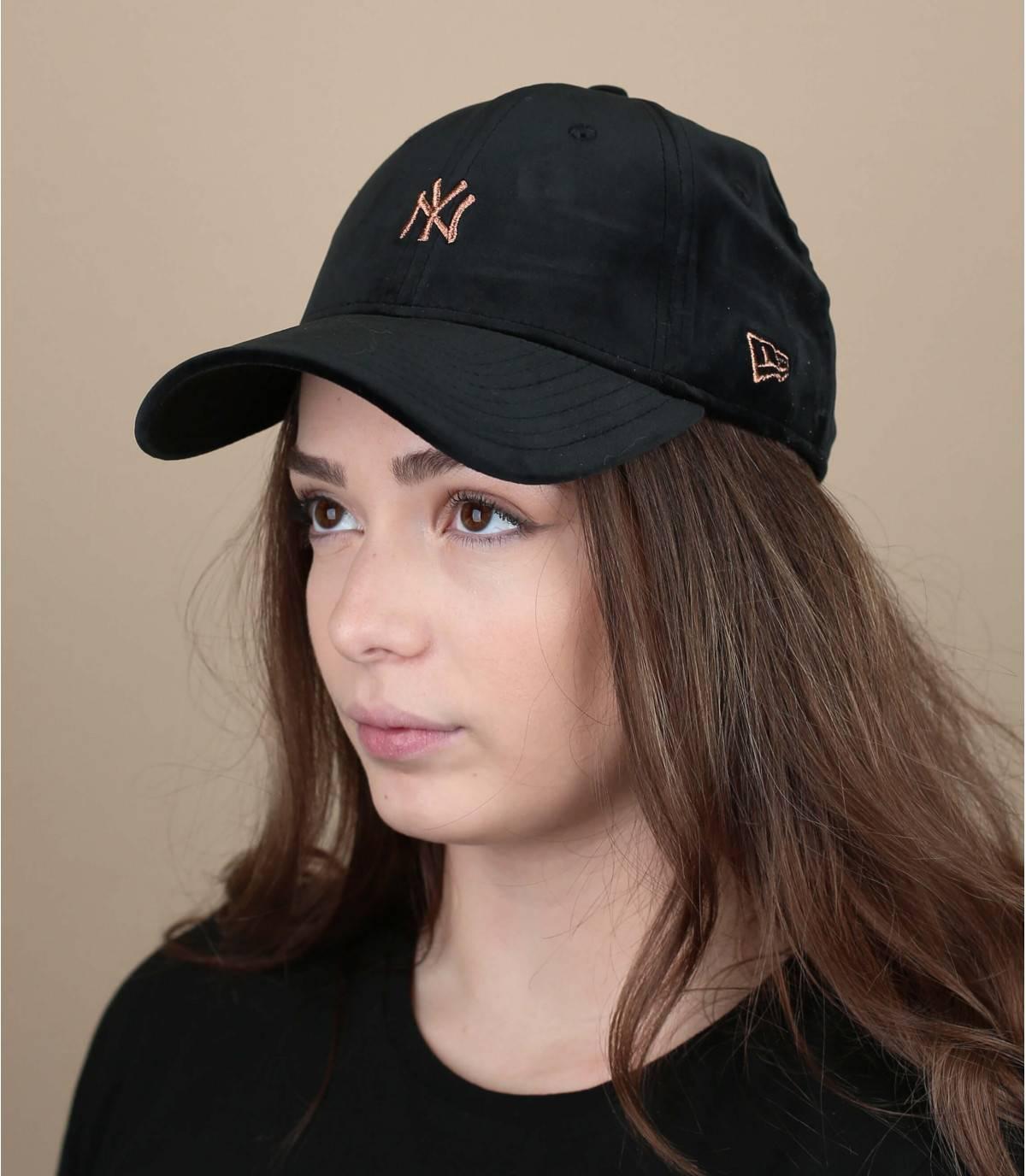 cappellino femme noir