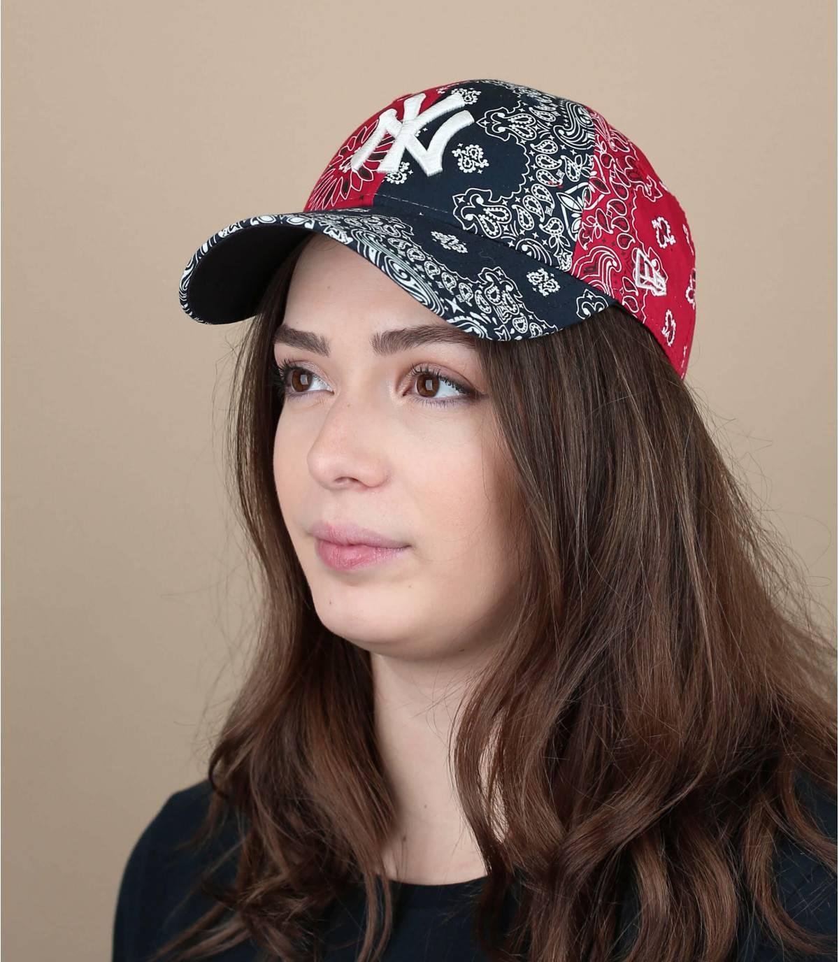 cappellino bandana donna