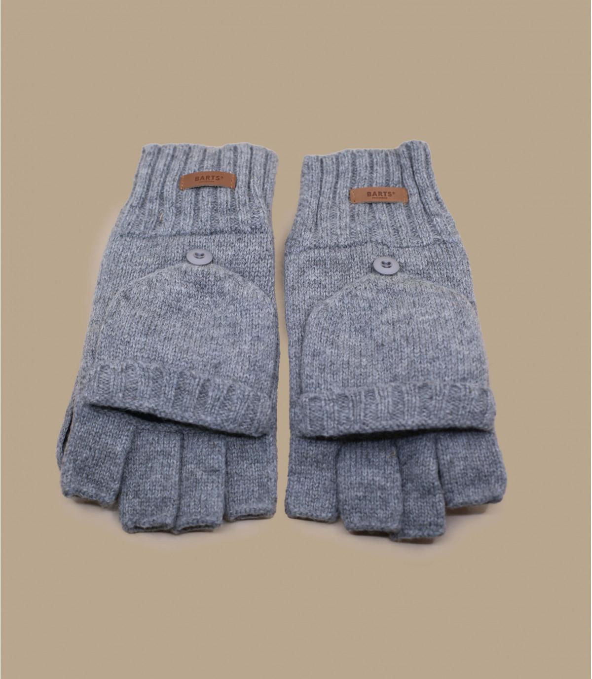 Haakon guanti heather grigio