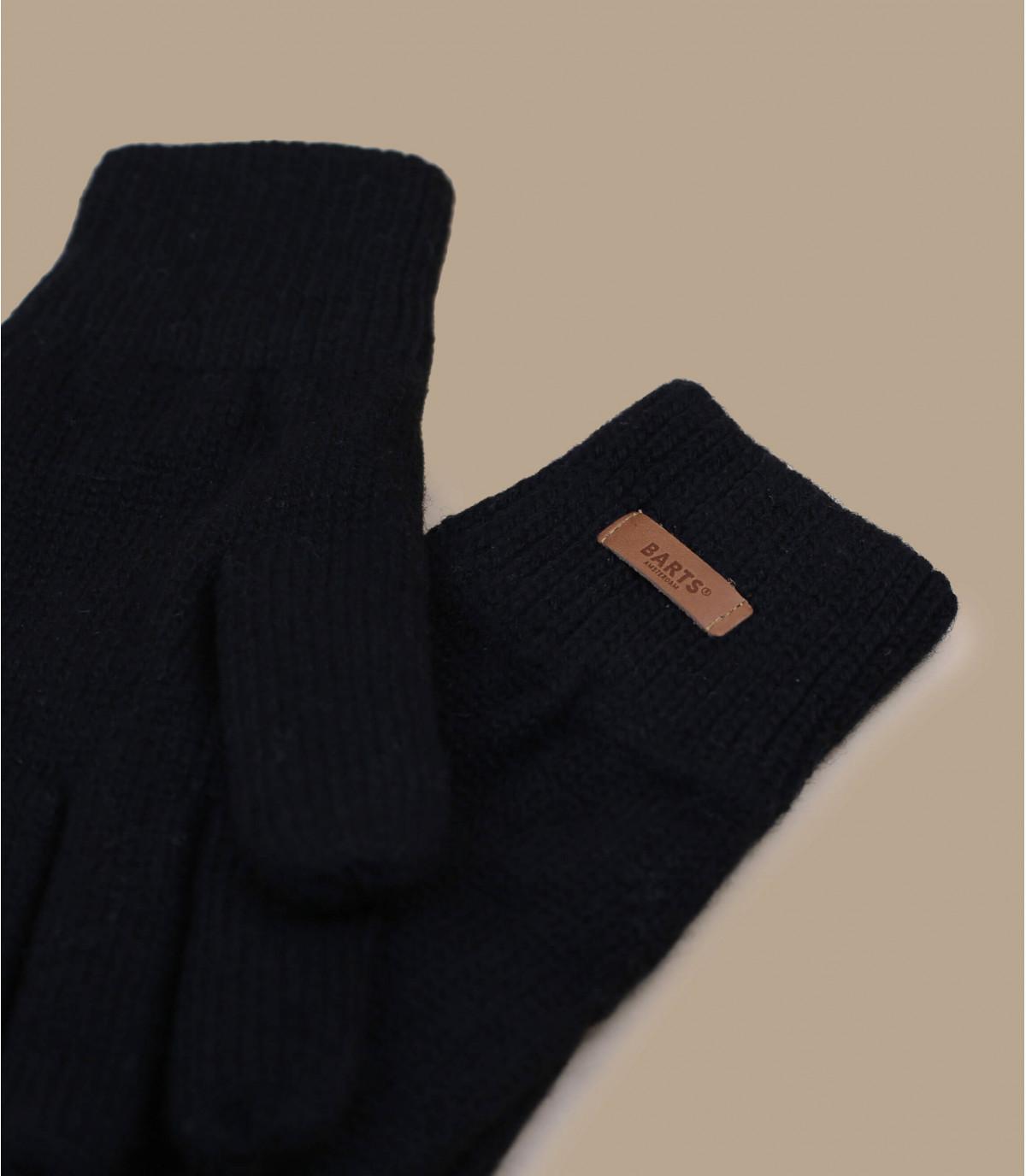 Haakon guanti nero