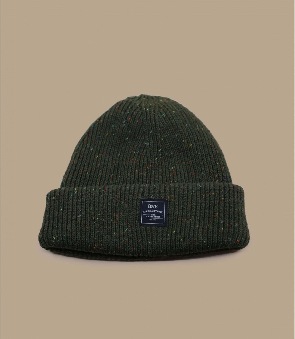 Cappello reversibile kaki Barts