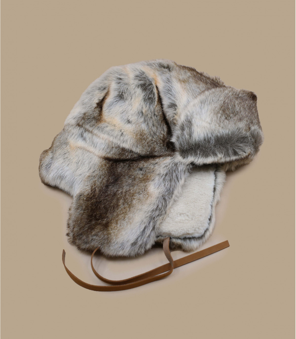 cappello di pelliccia grigio Barts donna - Lucerne Bomber rabbit Barts -  image 1 ... 6e23e9caeb36