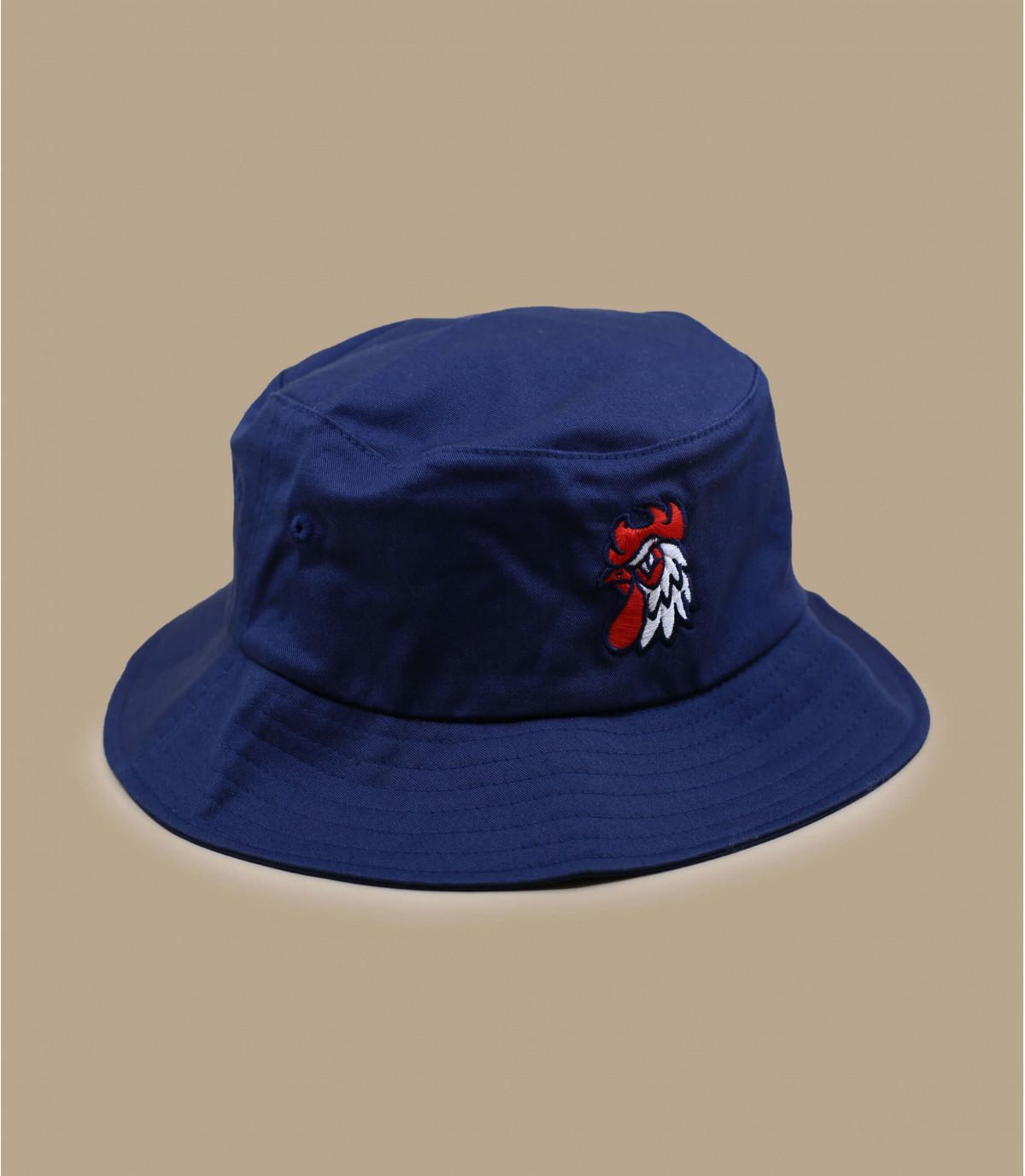 caschetto blu navy