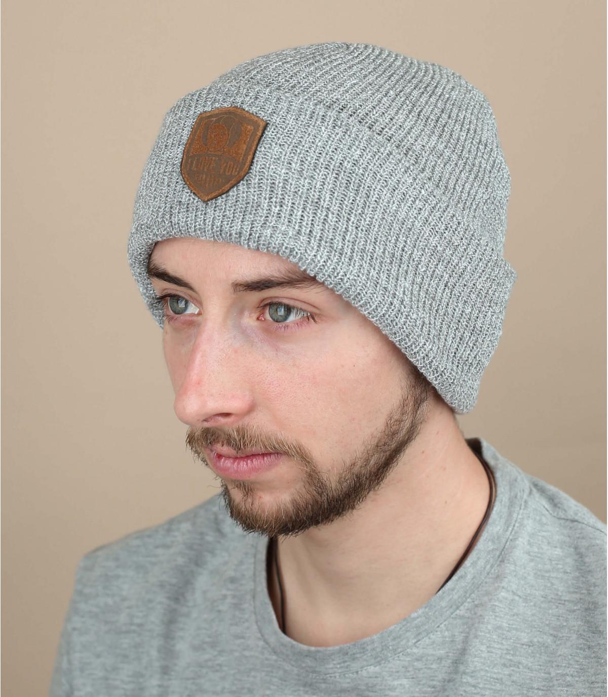 cappello principessa ti amo grigio