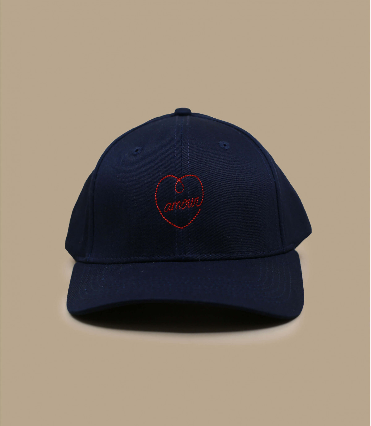 Dettagli Curve Amour navy red - image 2