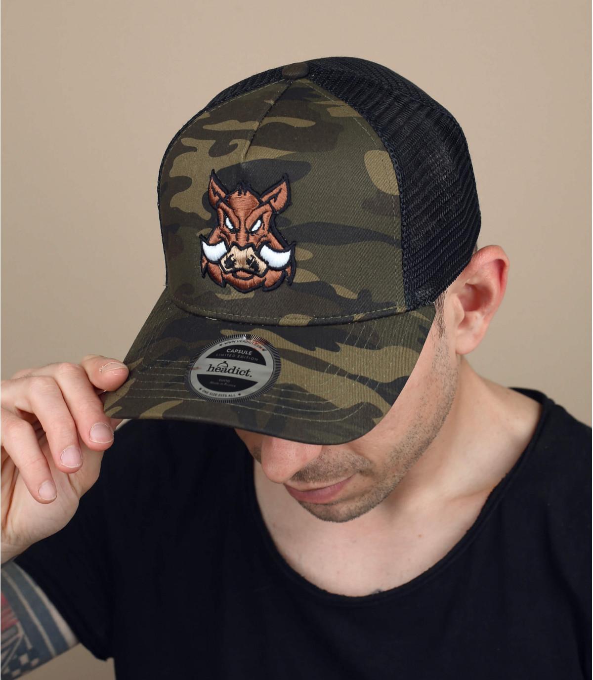 cappello da caccia cinghiale