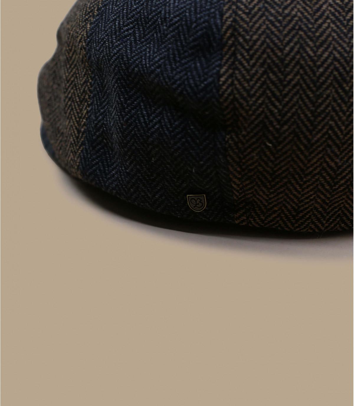 strillone chevrons grigio marrone