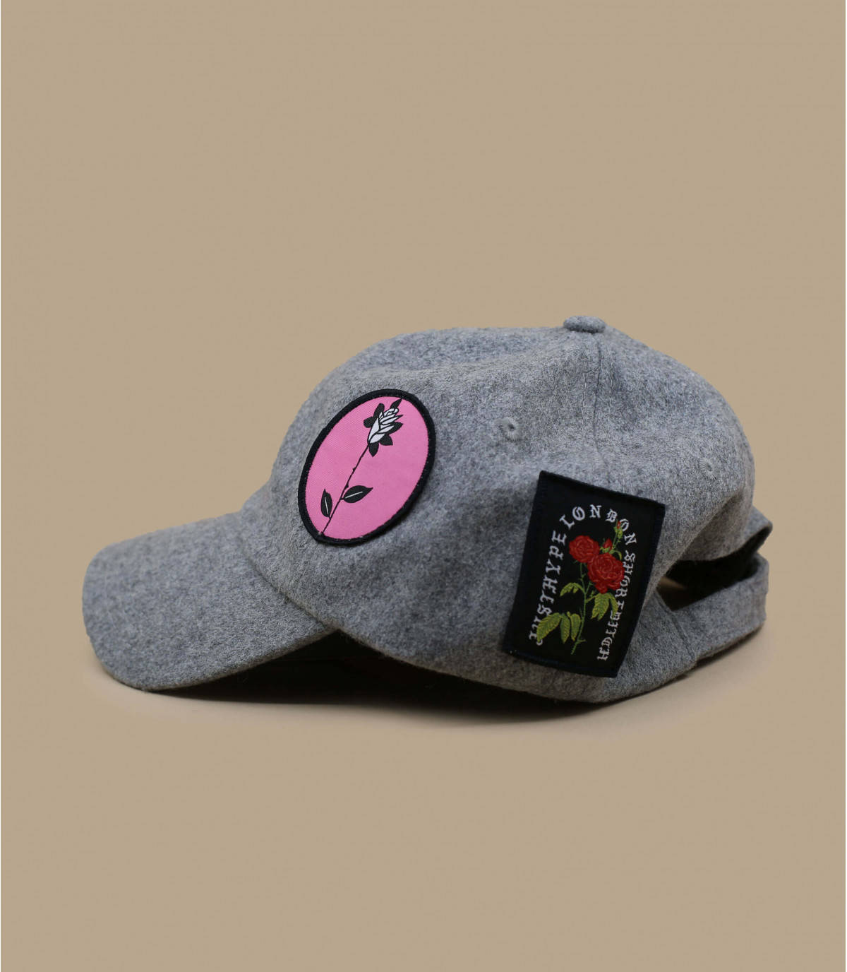 Dettagli Wolly Patches Dad Cap - image 2