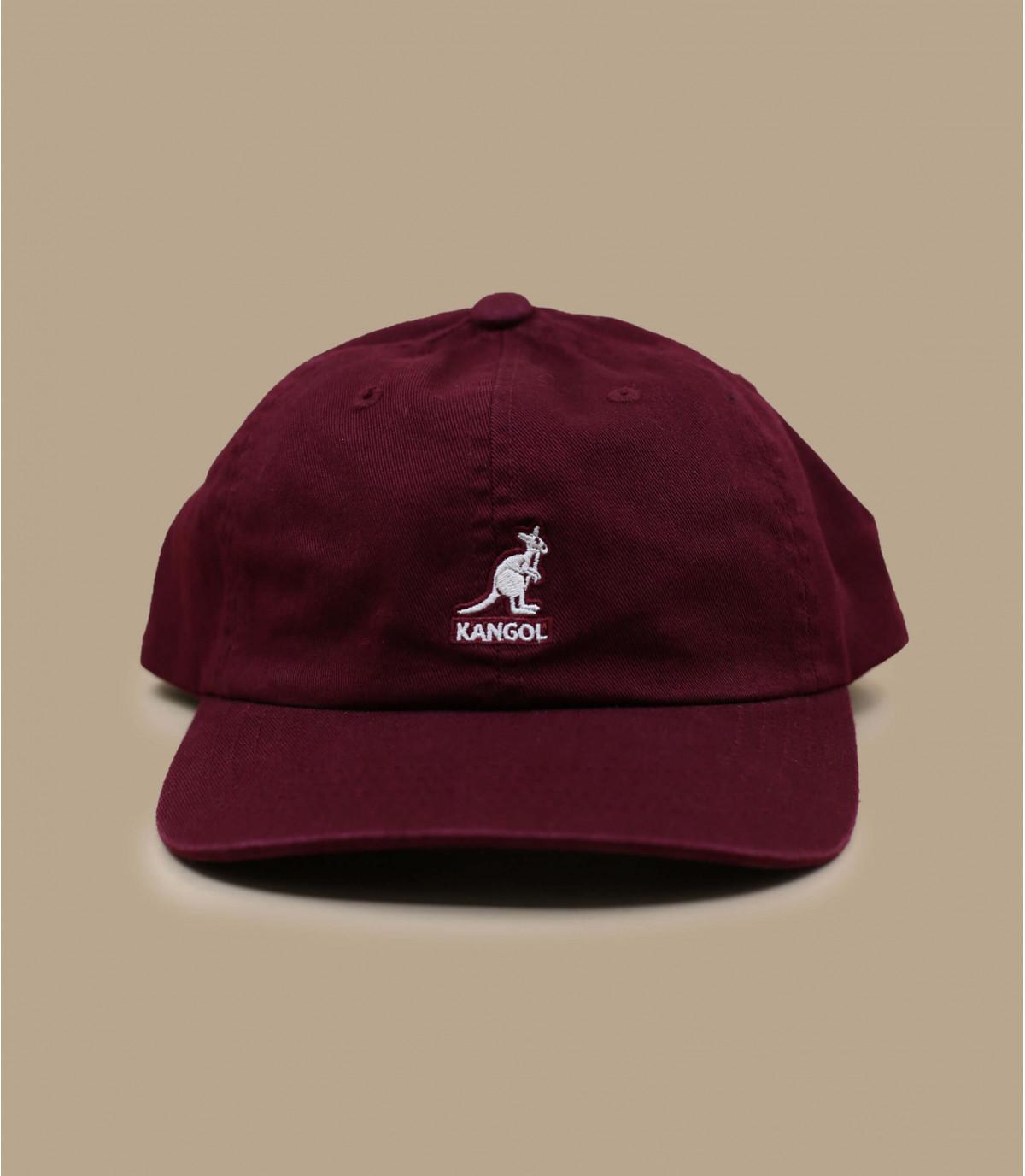 cappello kangol bordeaux