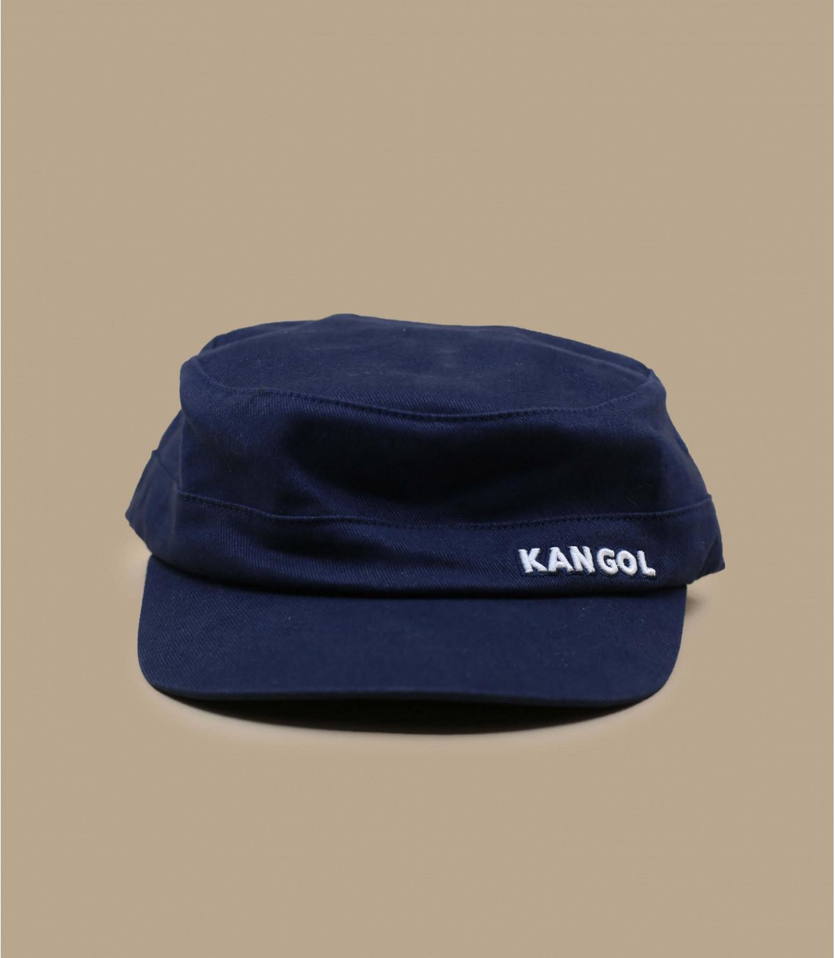Cappellino Kangol blu militare