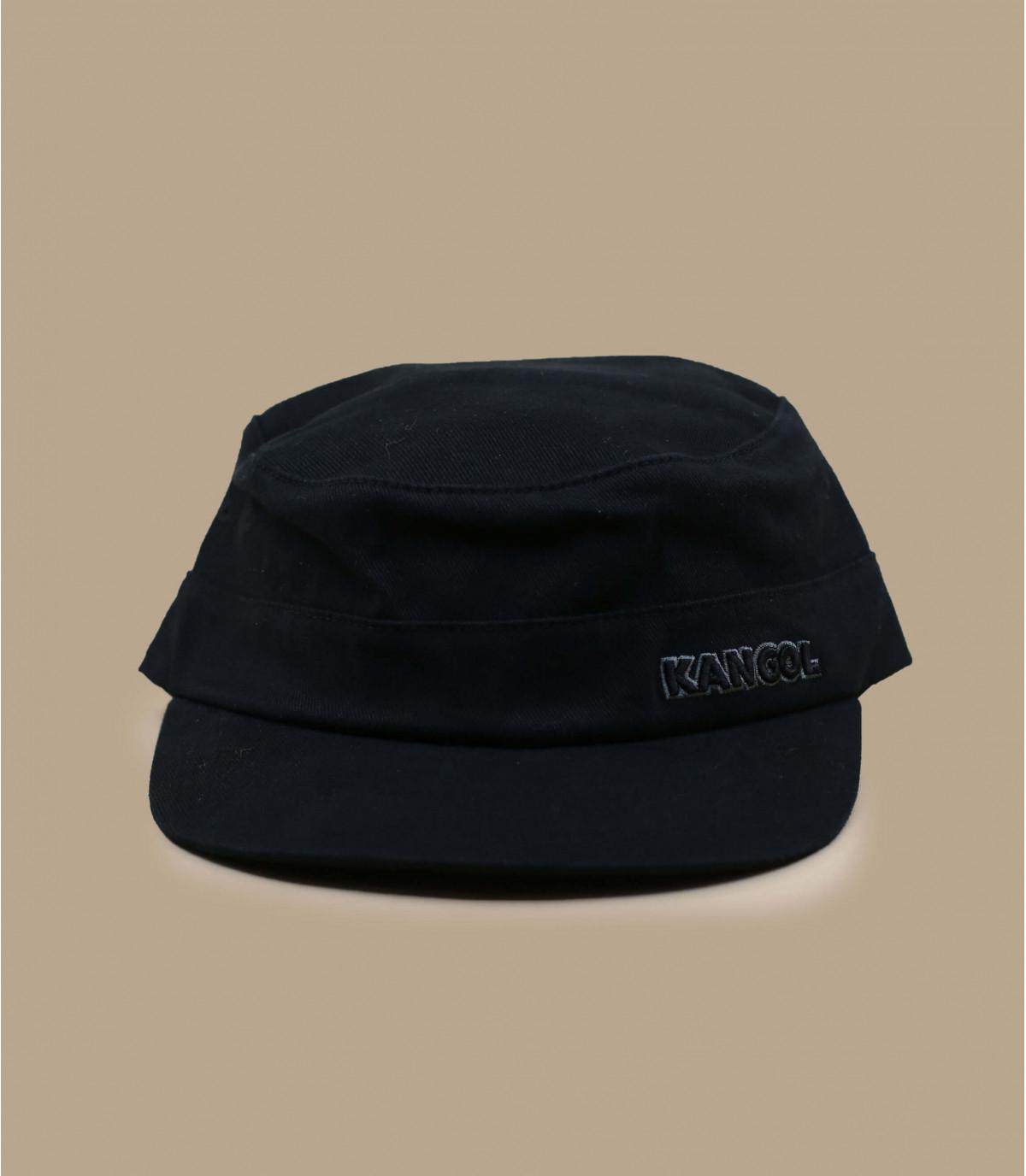 berretto militare nero Kangol