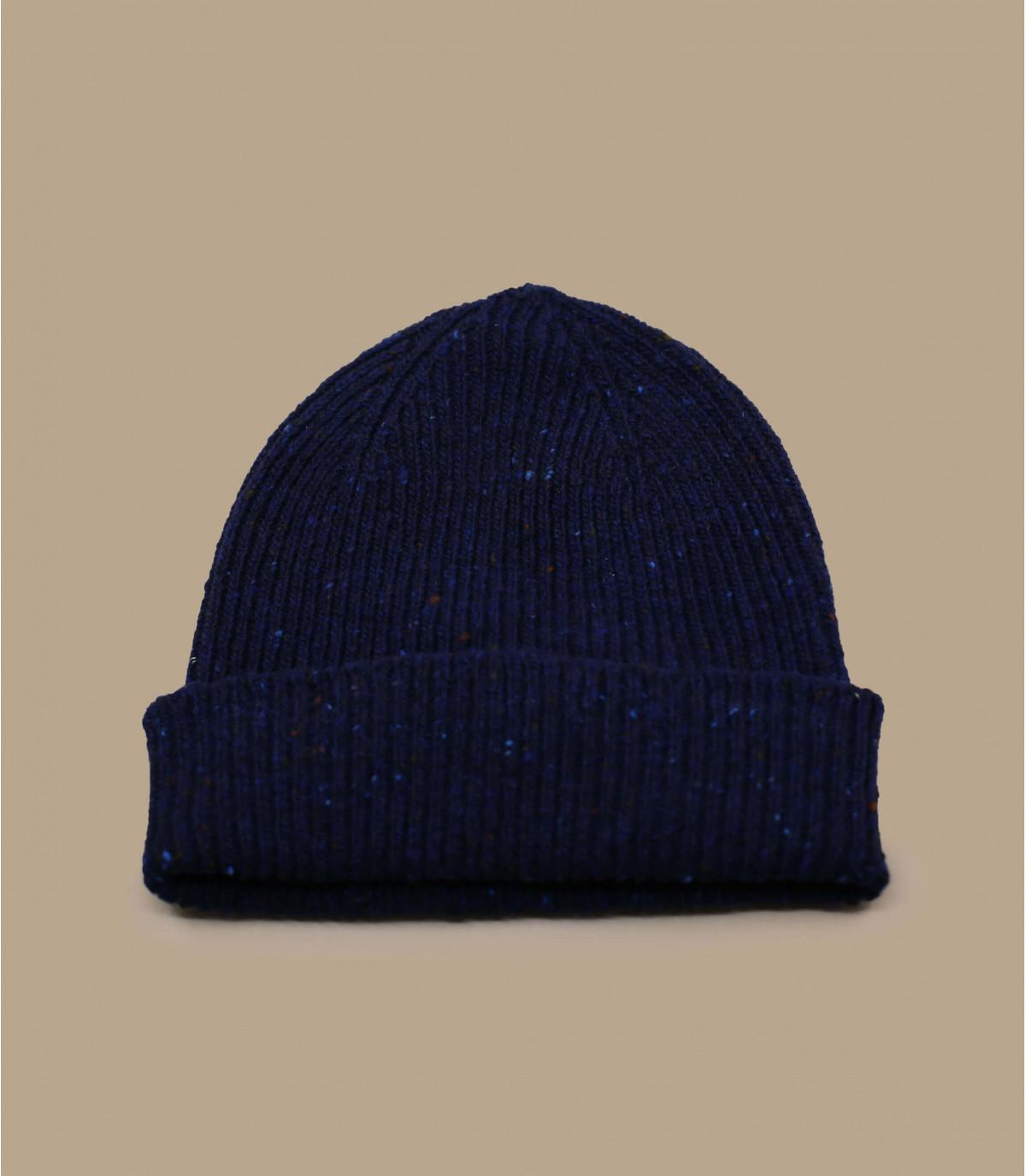 docker cappello lana blu