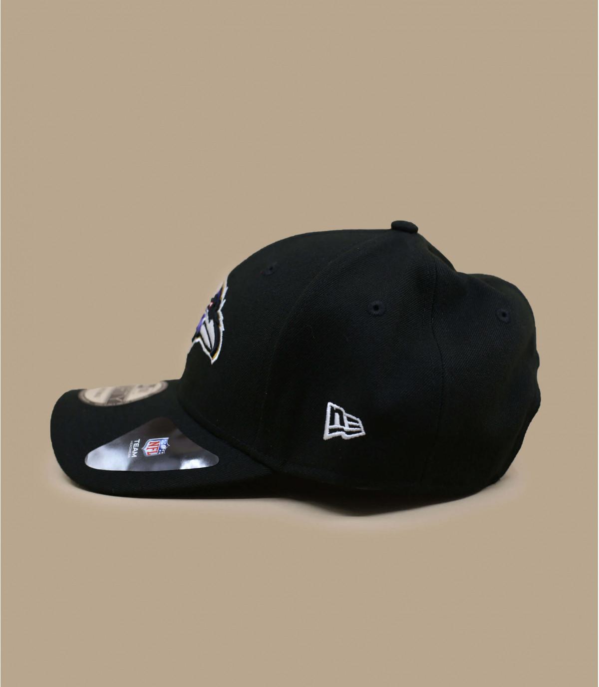 Ravens curva Cap Black