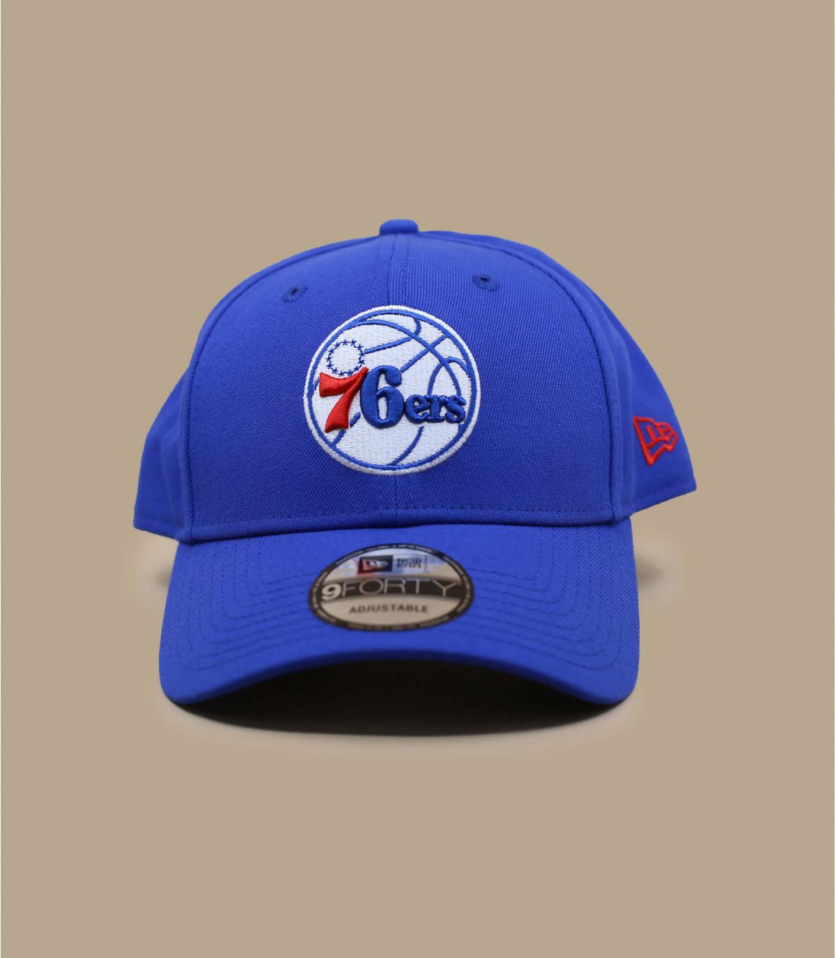 Cappellino Sixers NBA blu