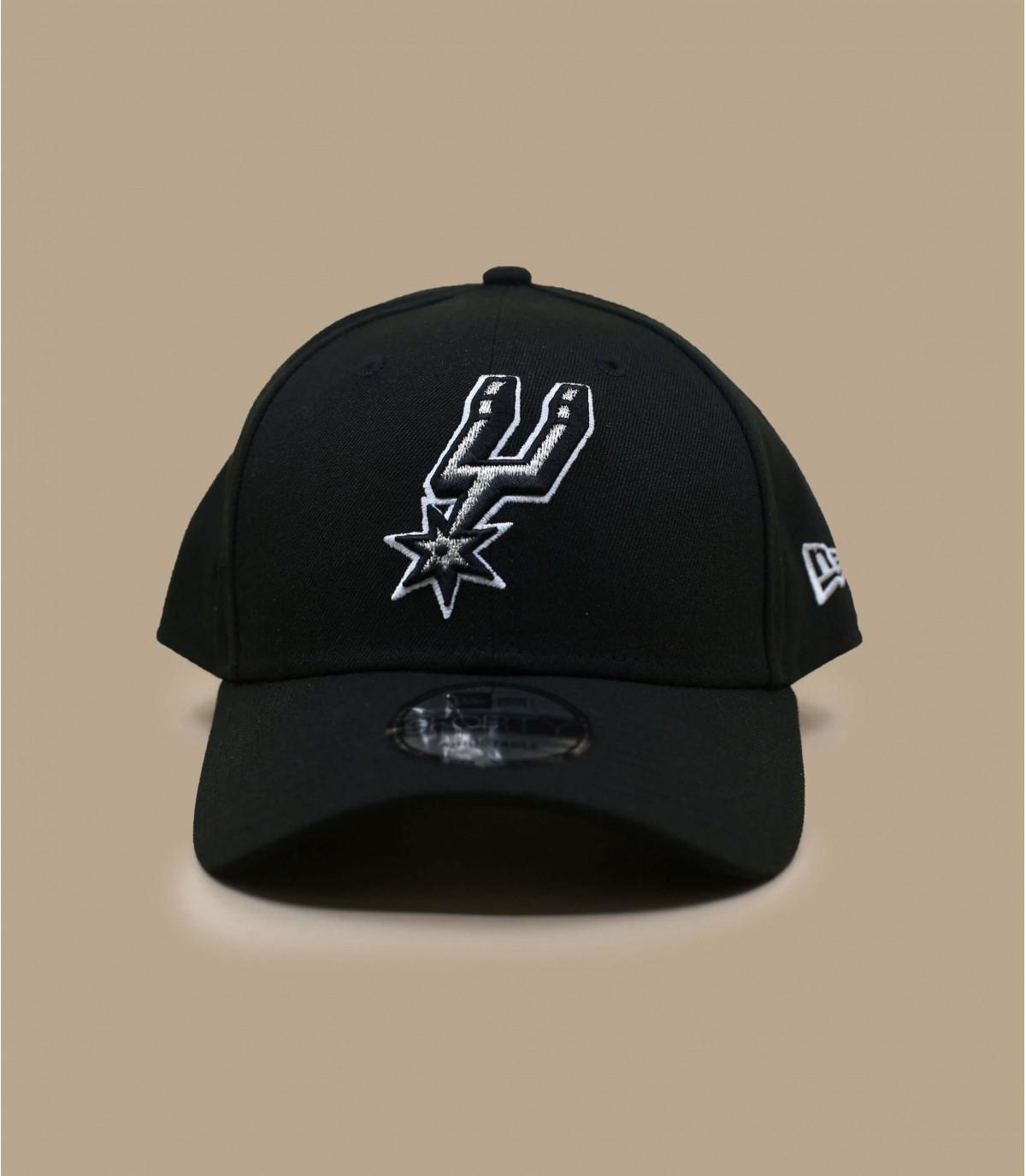 Spurs NBA cappuccio nero