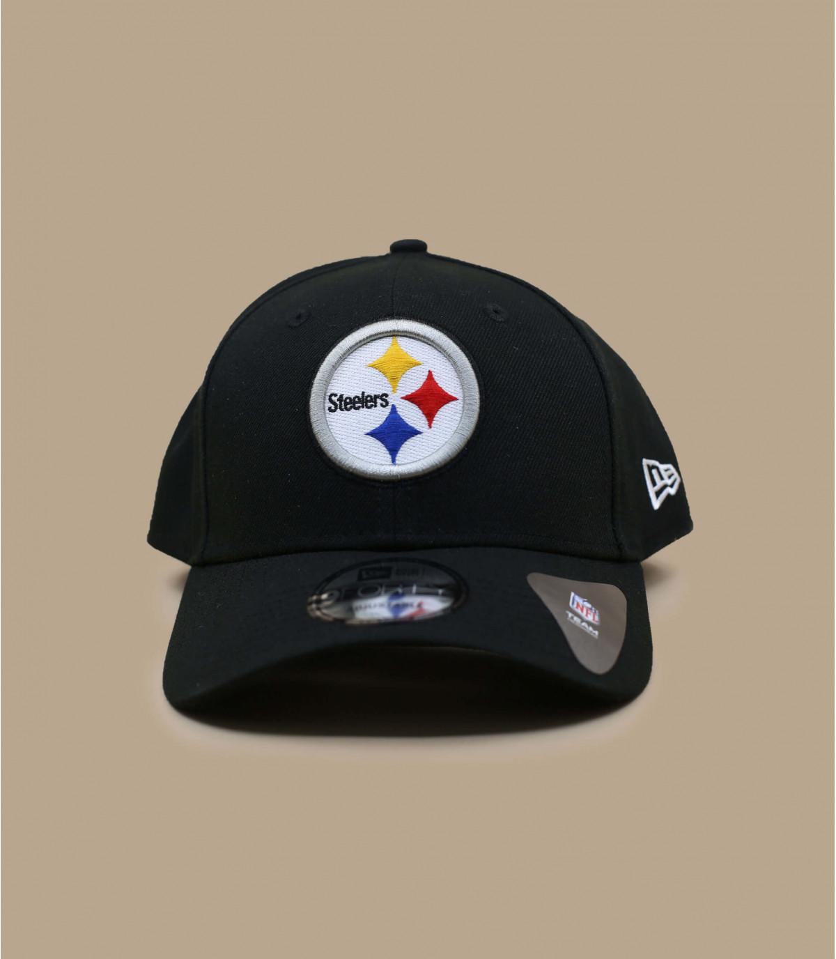 Cape curva Steelers nero