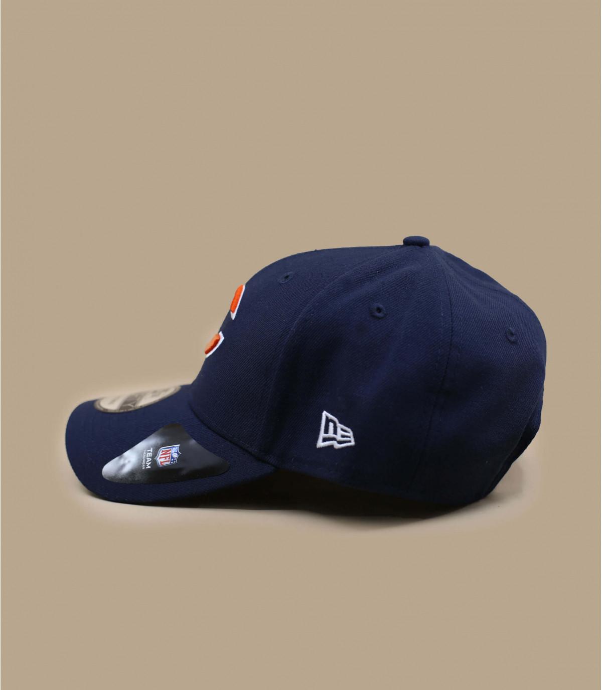 Orsi curva blu navy cap