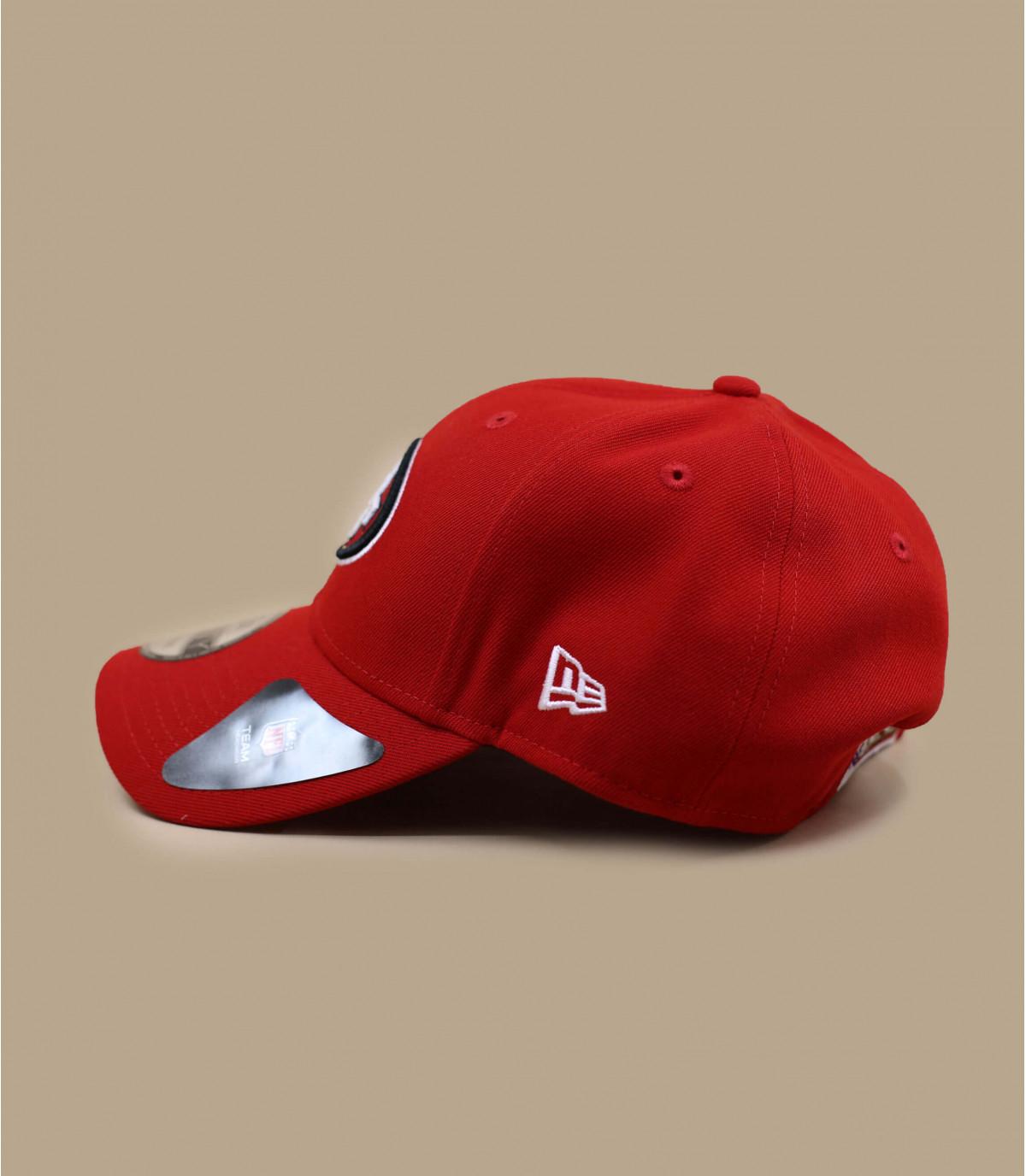 49ers curva di tappo rosso