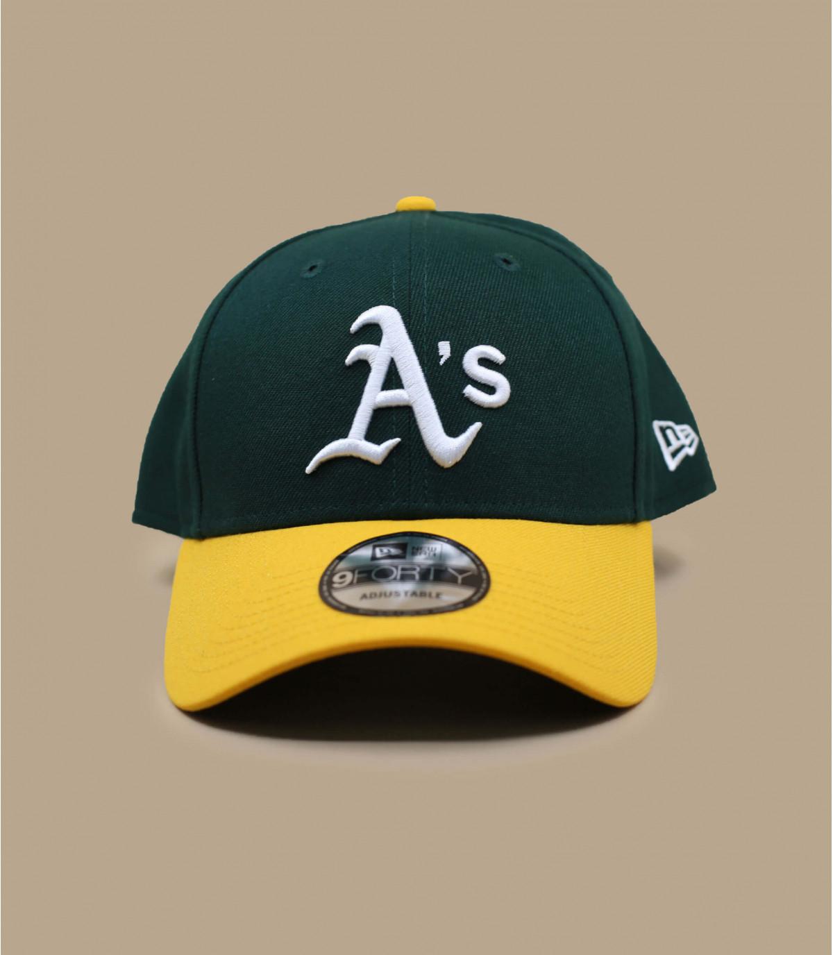 berretto giallo verde