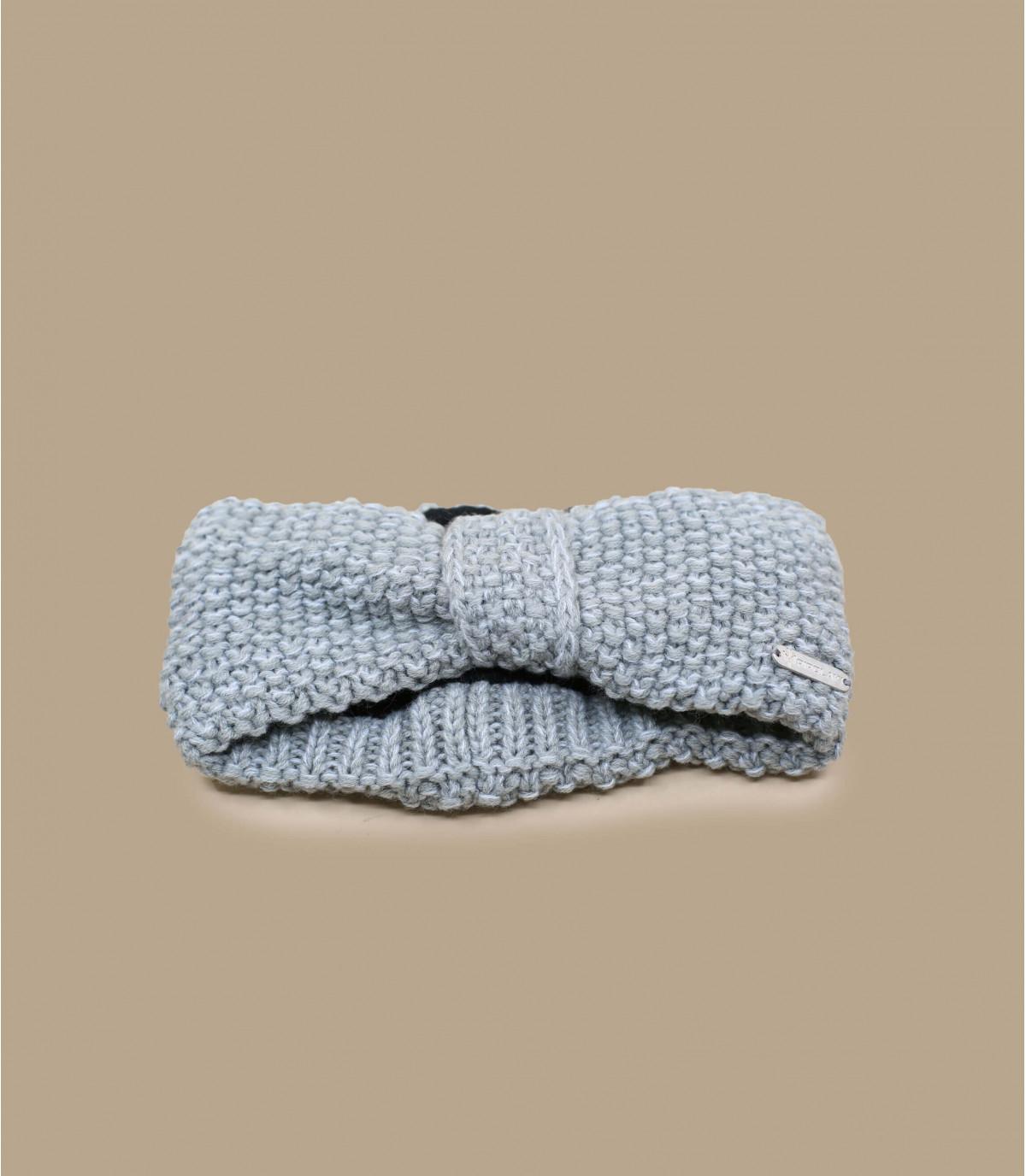 fascia in maglia grigia