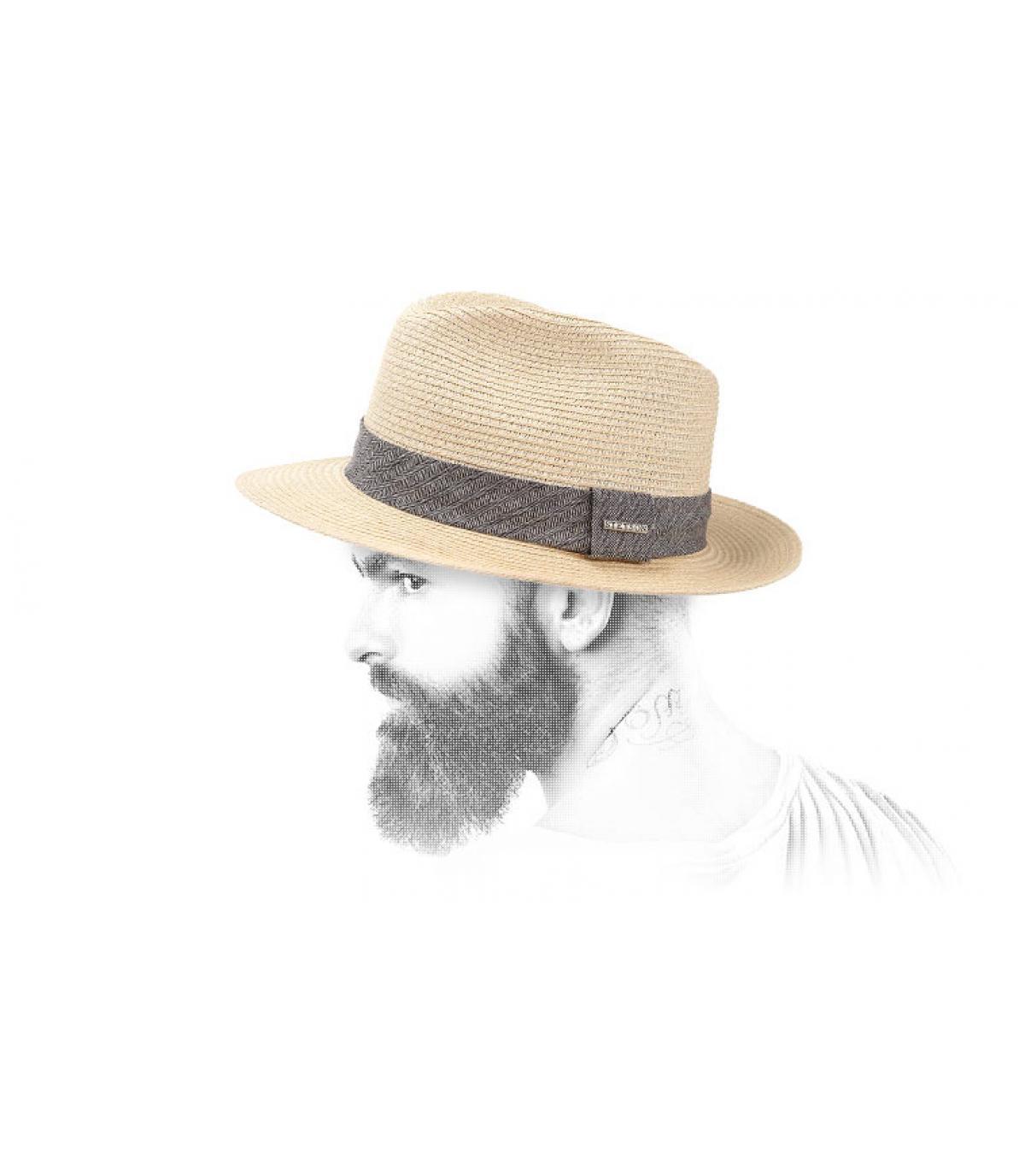 Cappello paglia uomo Stetson