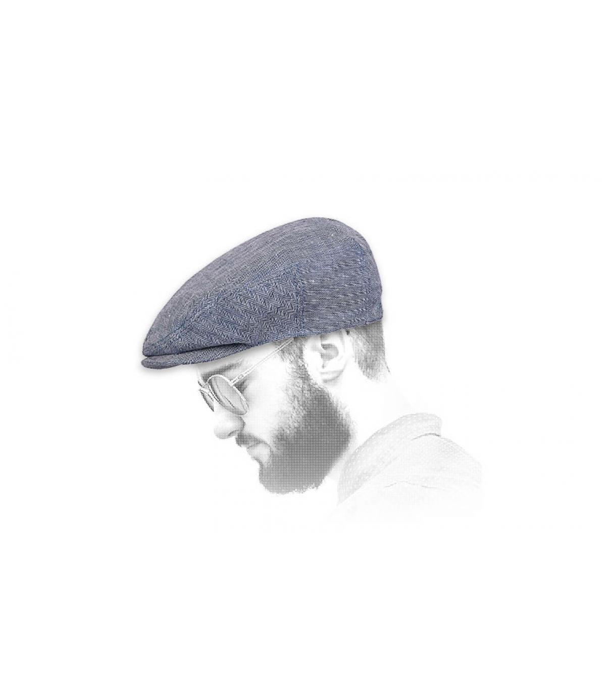 Cappellino gavroche Stetson denim