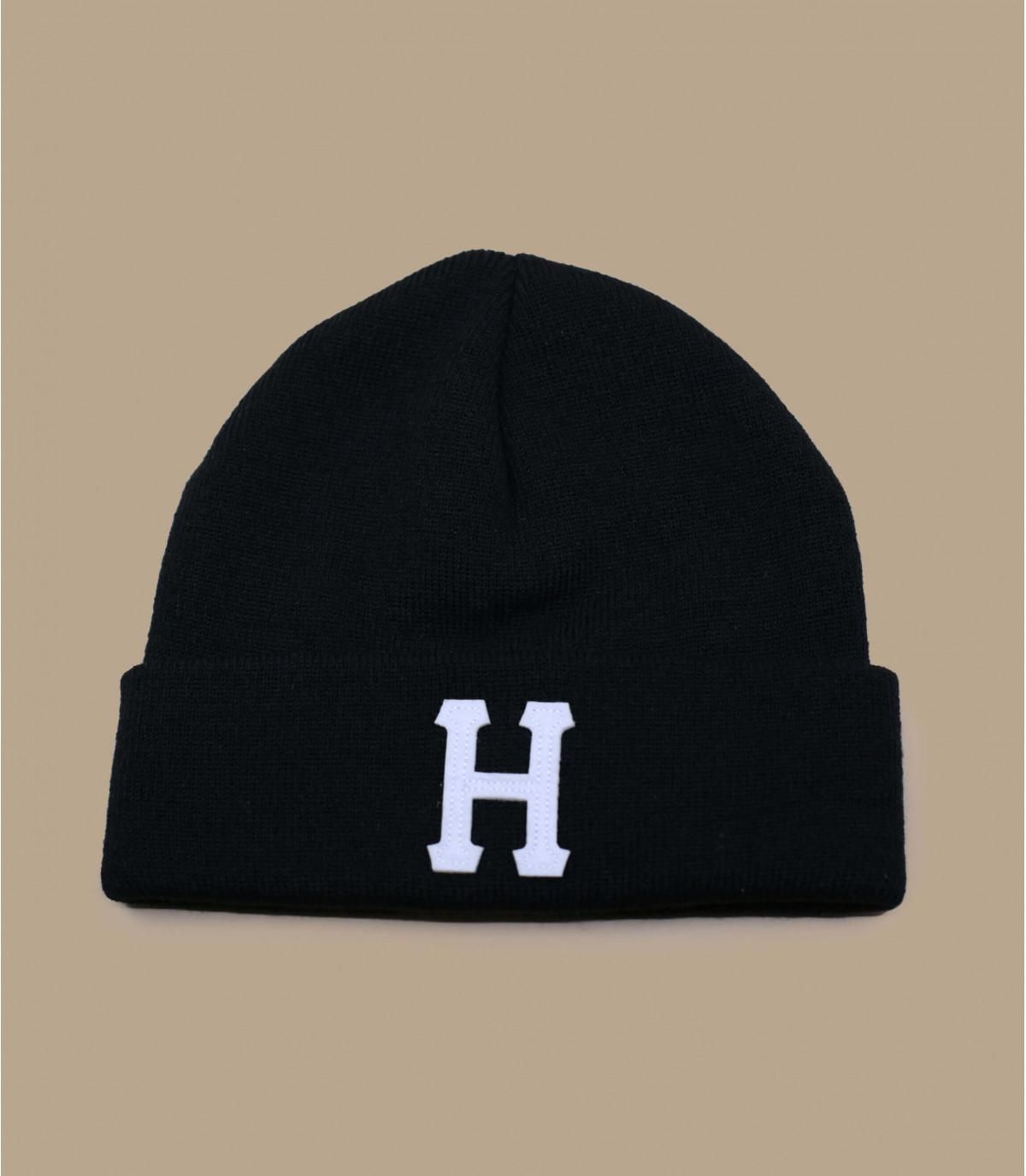 cappello bavero nero H
