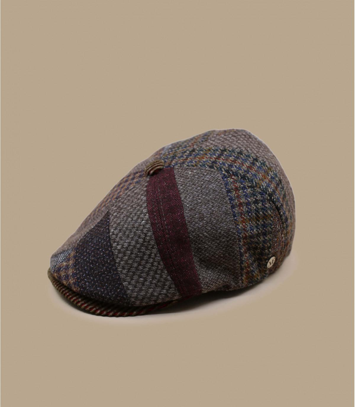 patchwork di lana da strillone