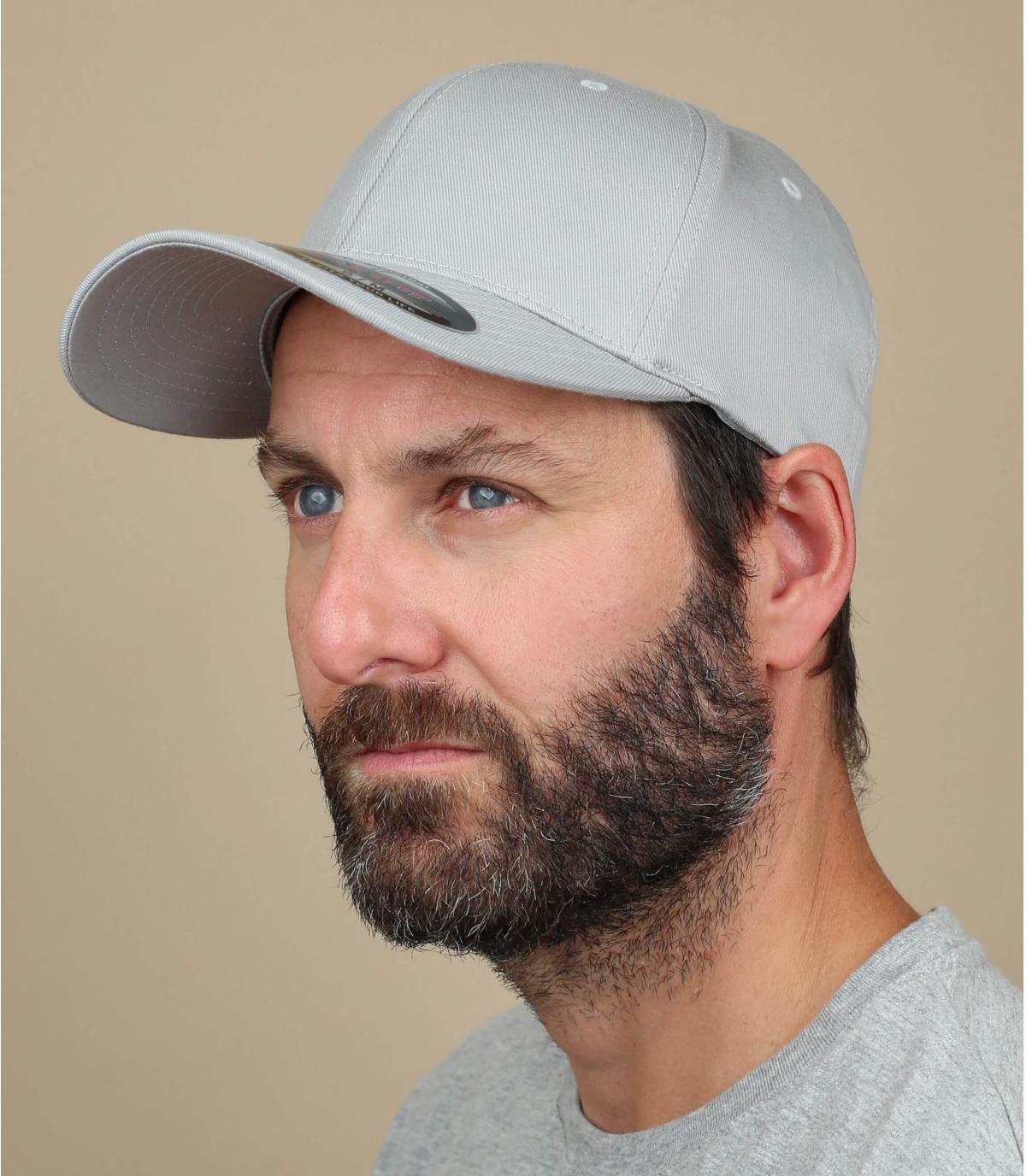 Flexfit cap silver