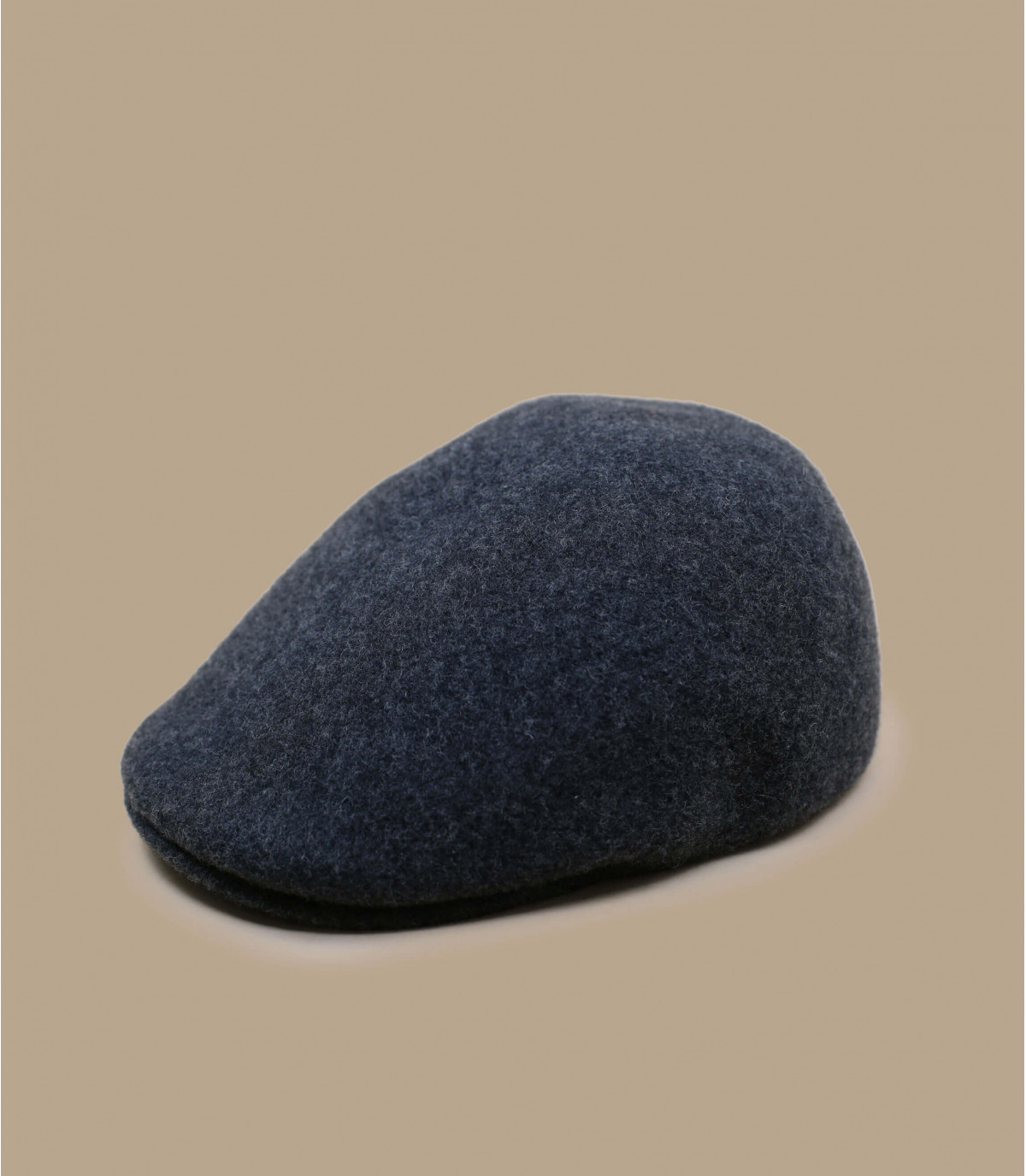 berretto di lana grigio Kangol