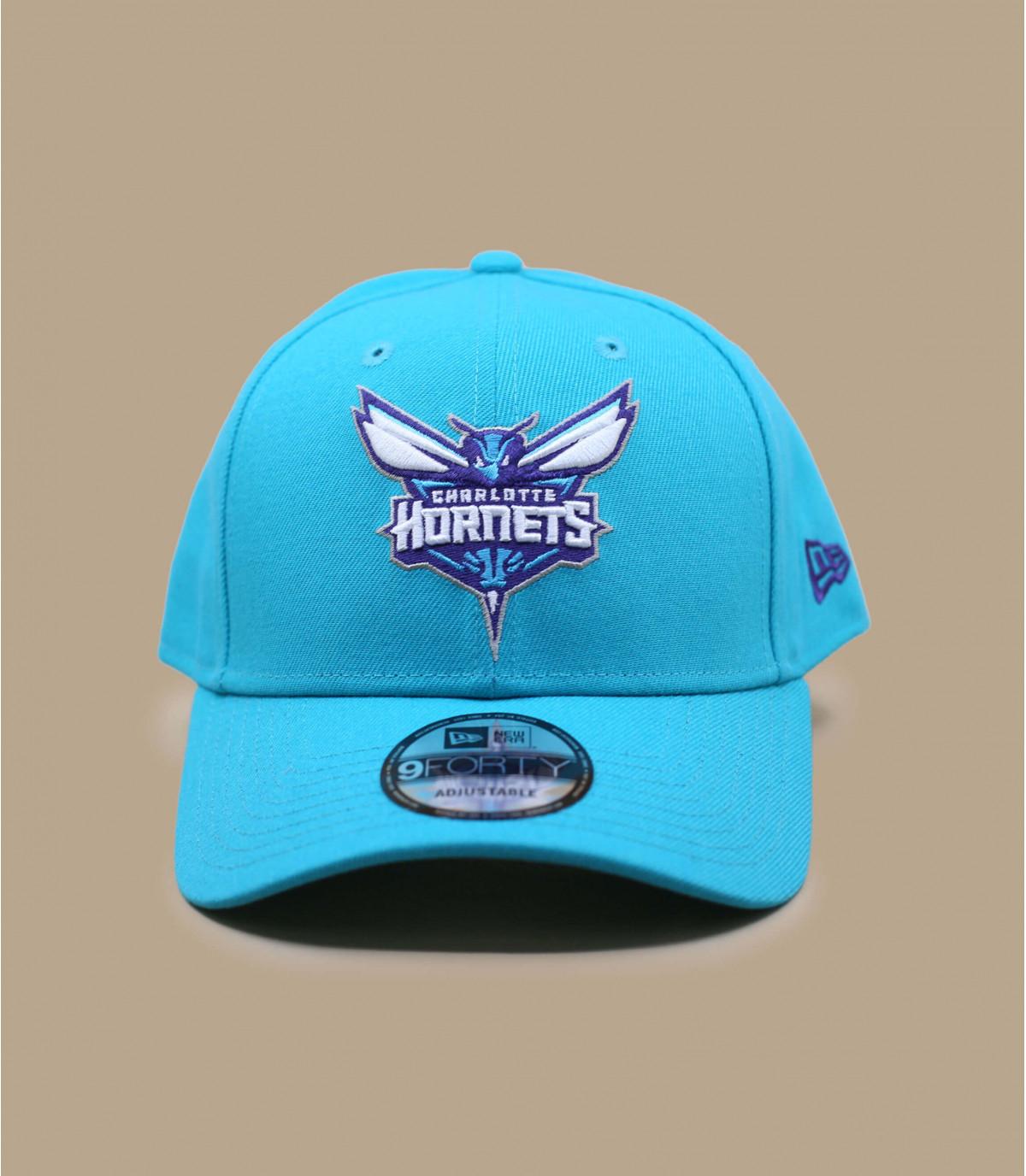 cap Hornets blu curva