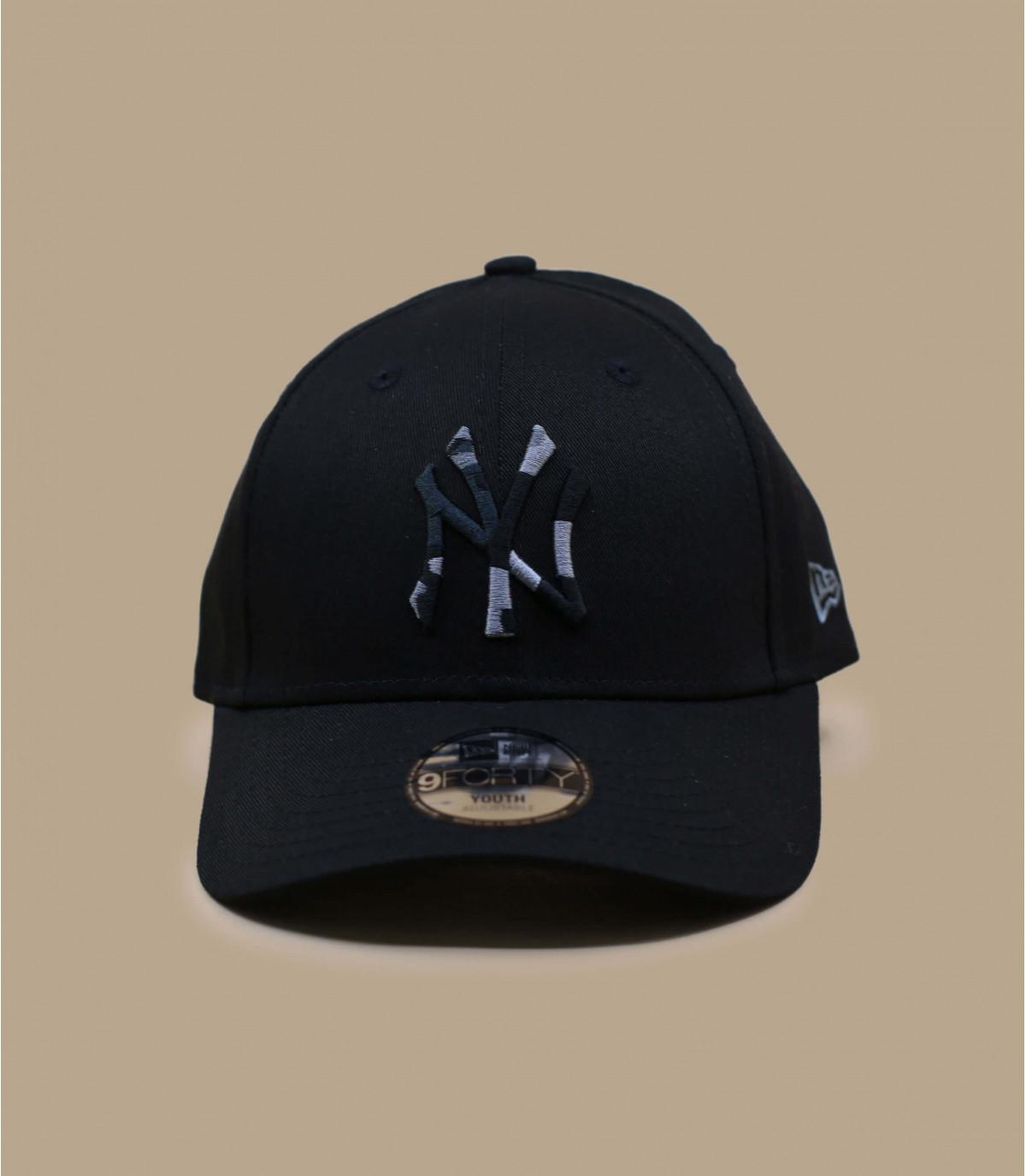 cappellino bambino NY camo