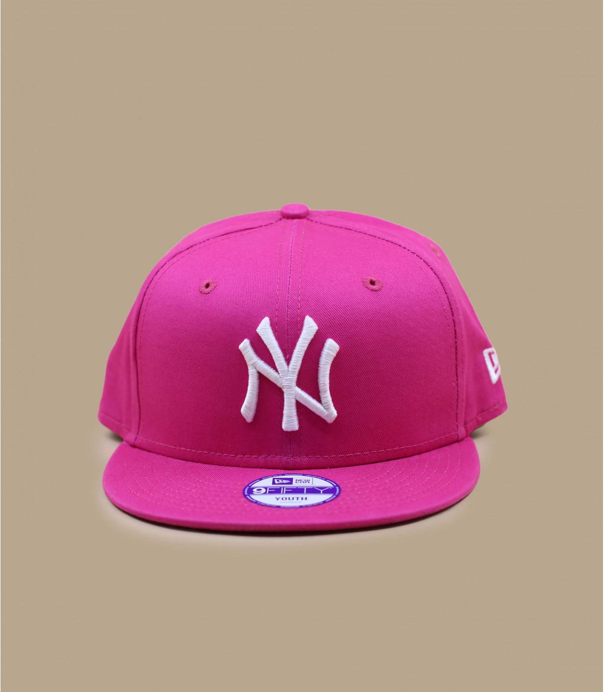 Snapback bambino ny rosa