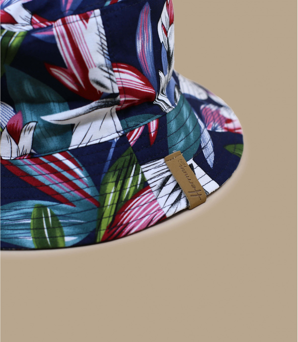 Dettagli Bucket Floral navy - image 2