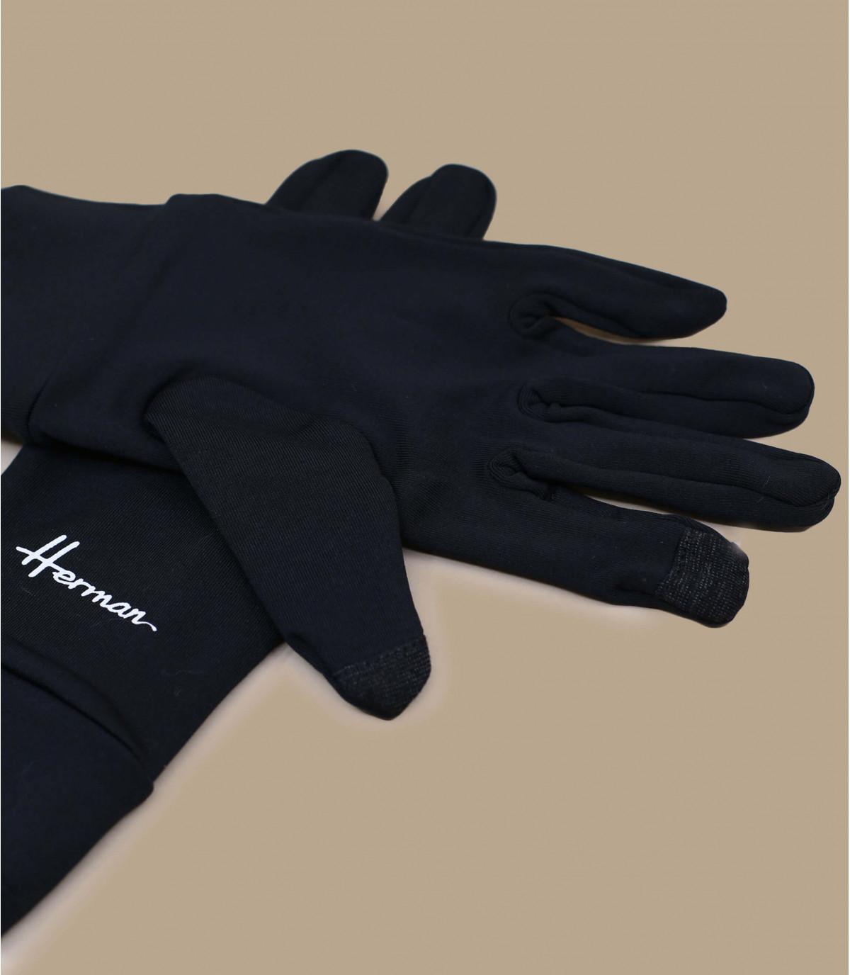 guanti compatibili con lo schermo nero