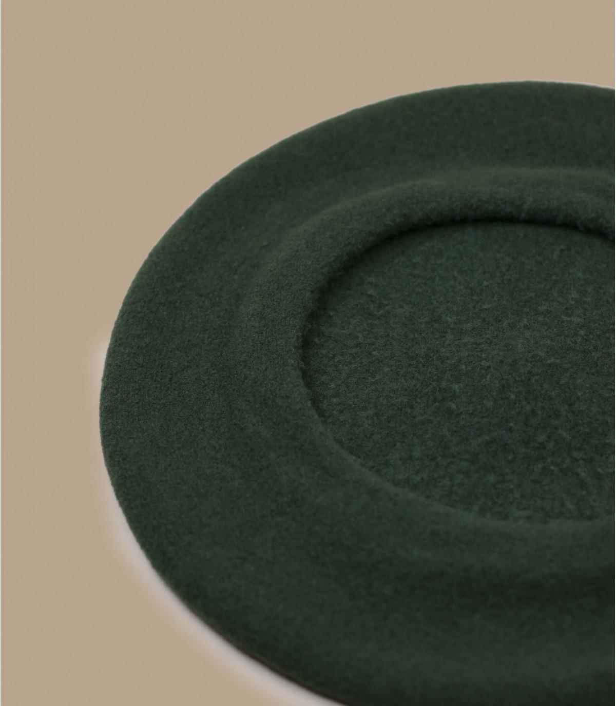 basco di lana verde kaki