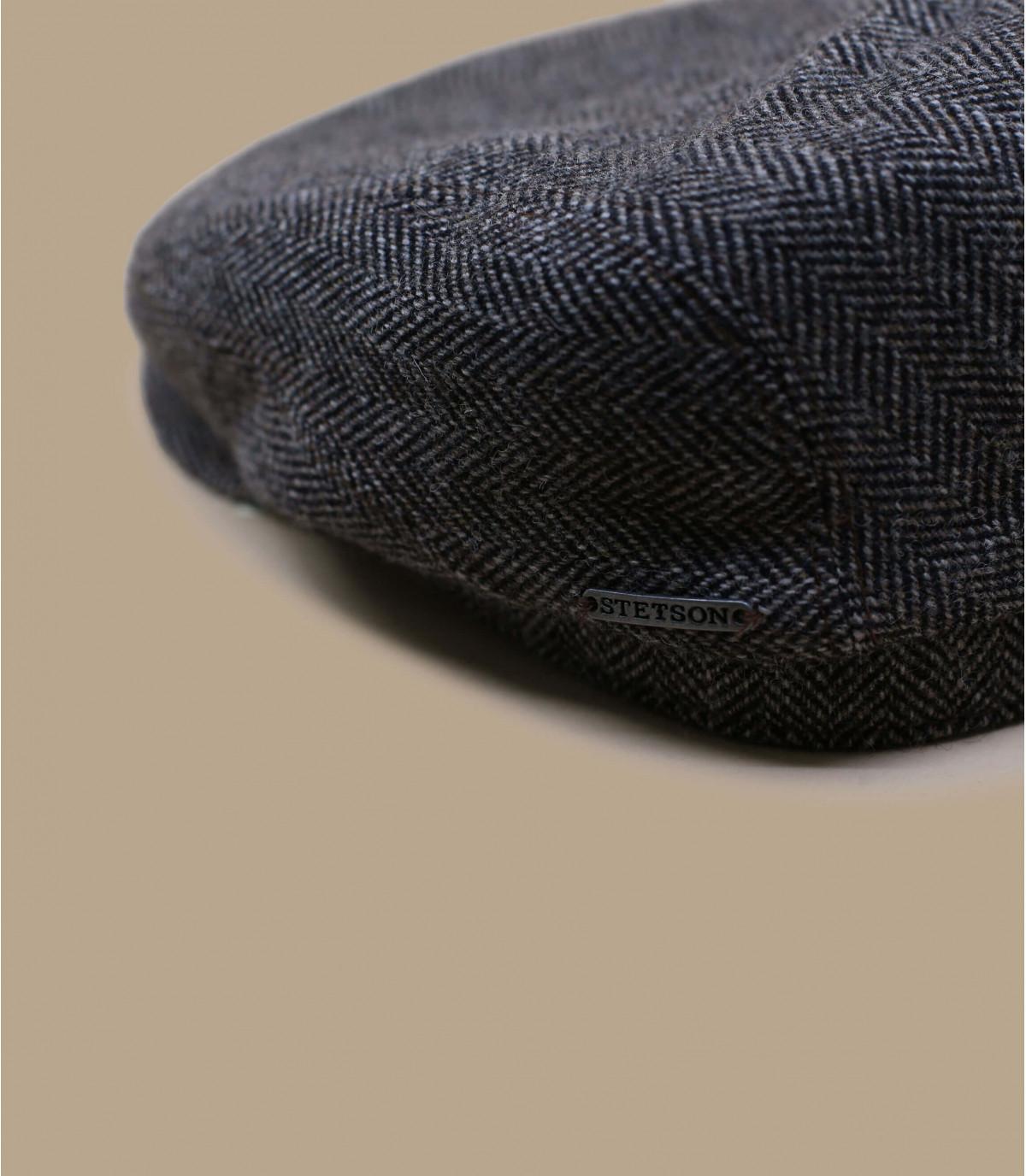 Cappellino piatto Stetson grigio