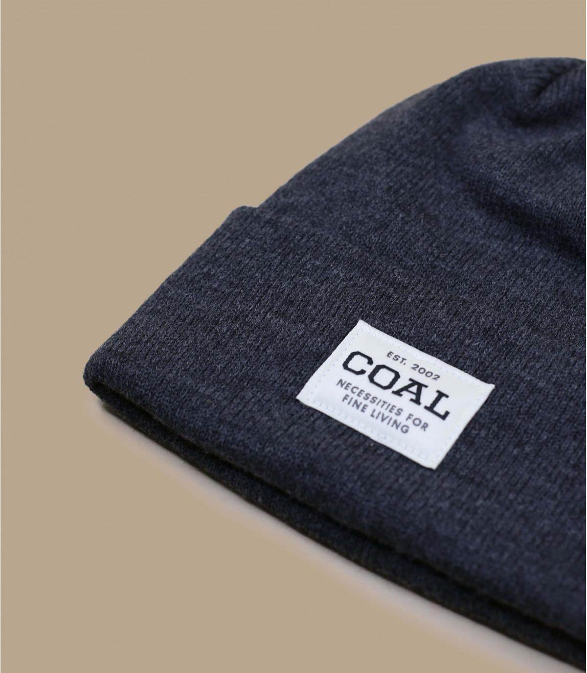 cappello bavero macchia grigia
